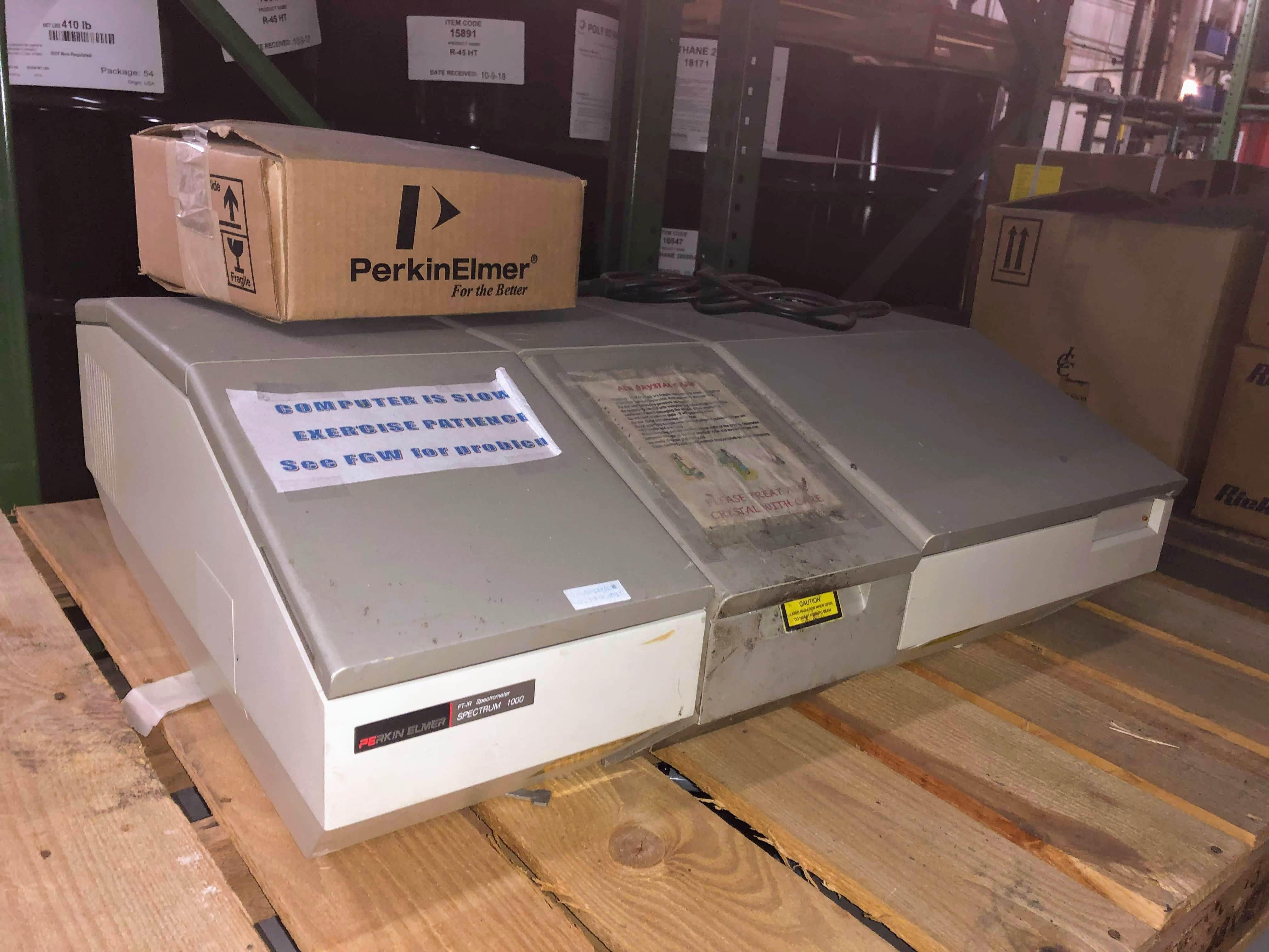 Perkin Elmer Spectrum 1000 FTIR