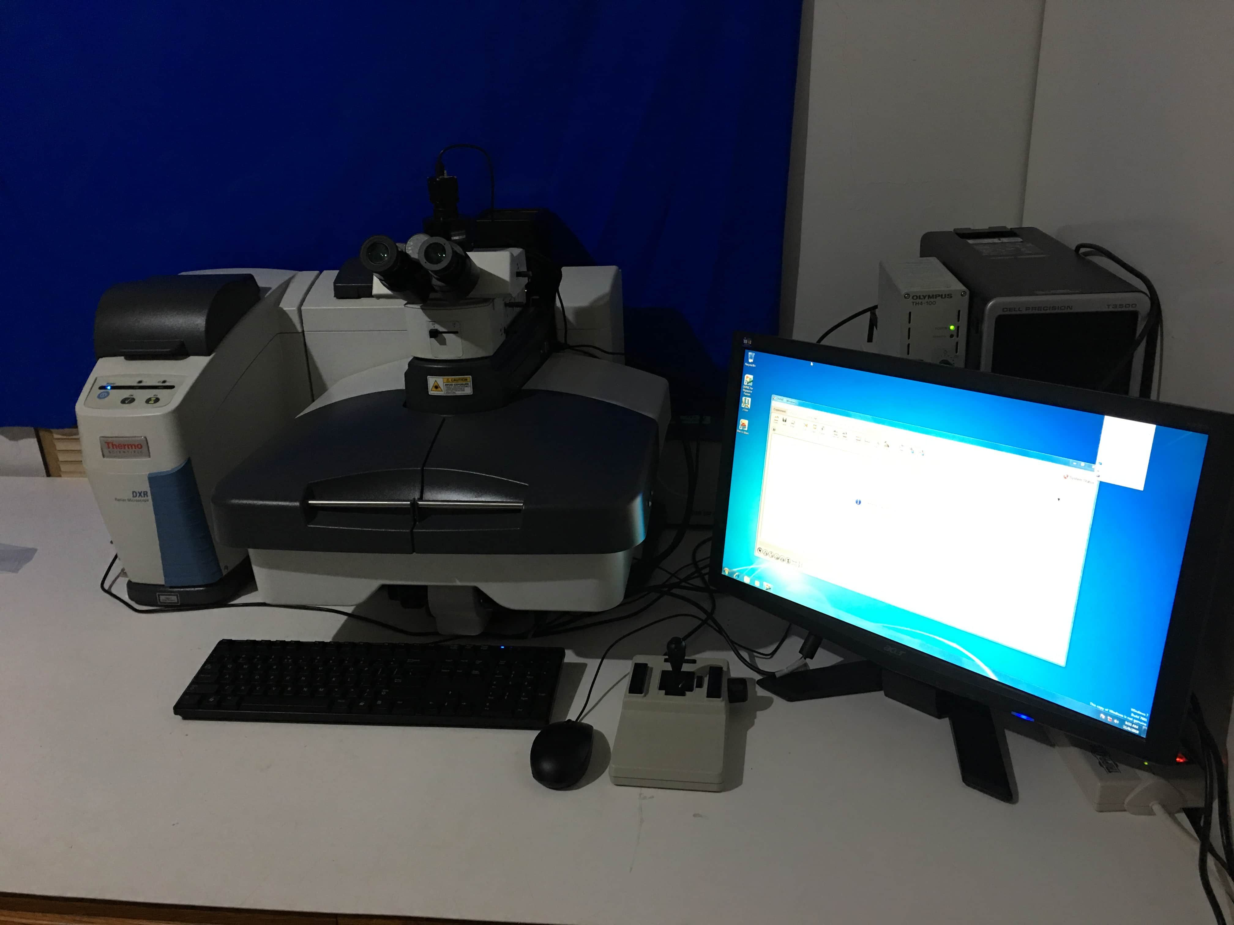 Thermo Electron DXR Raman Microscope Olympus BX51 Prior scanning stage OMNIC