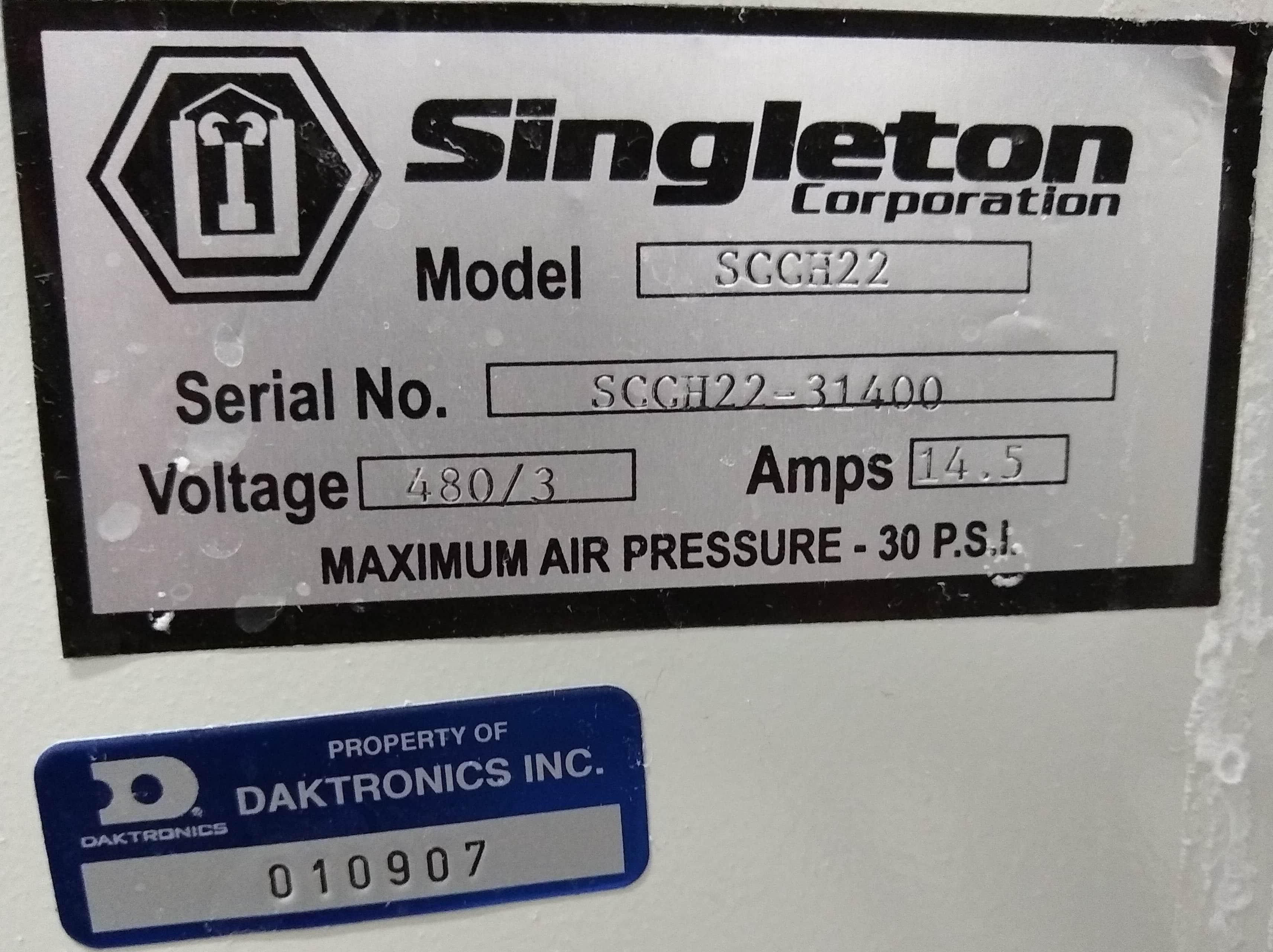 Singleton Salt fog/spray System