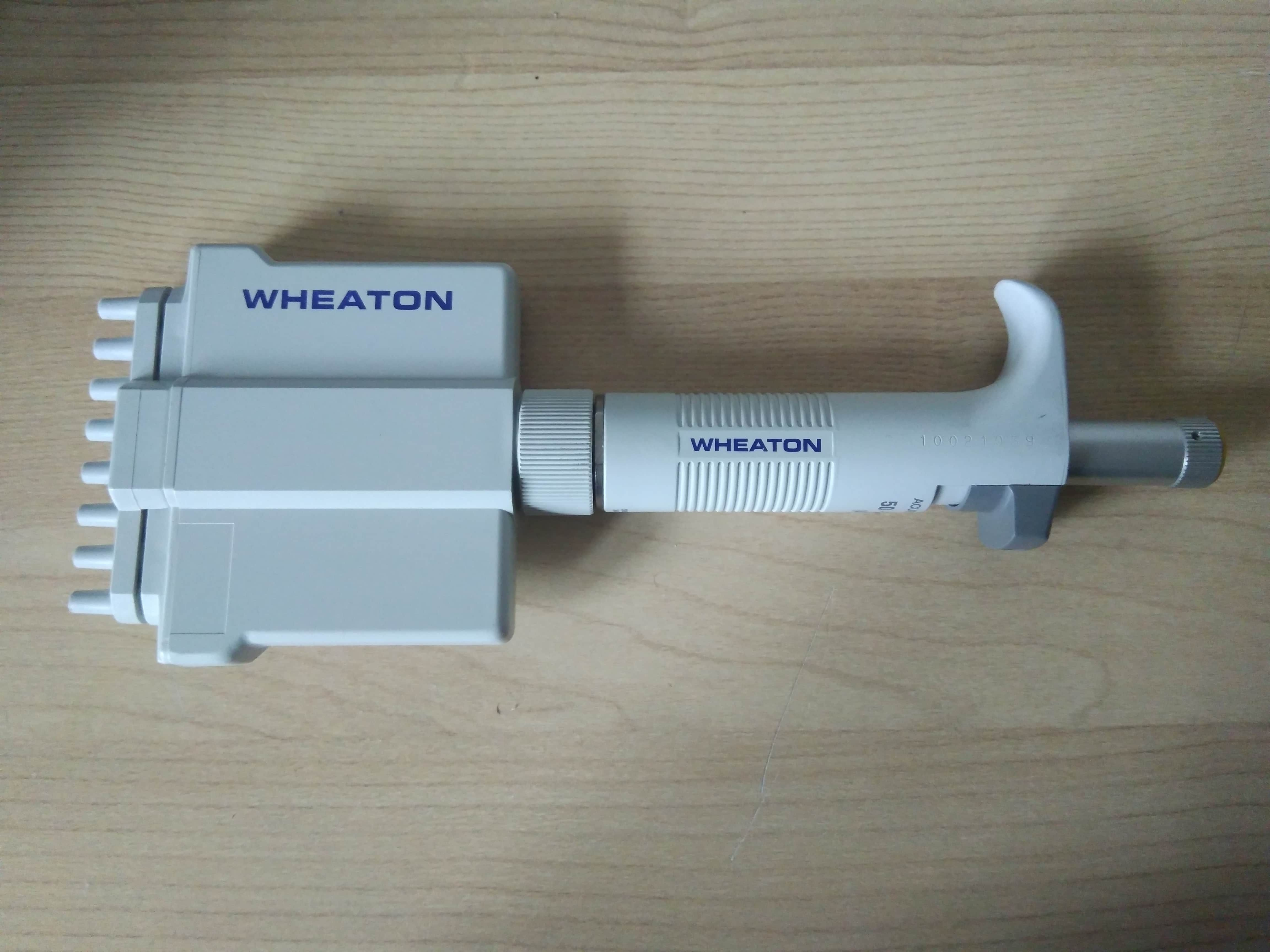 Wheaton Acura 851 8 Channels Adjustable volume Pipette 50-200 ul