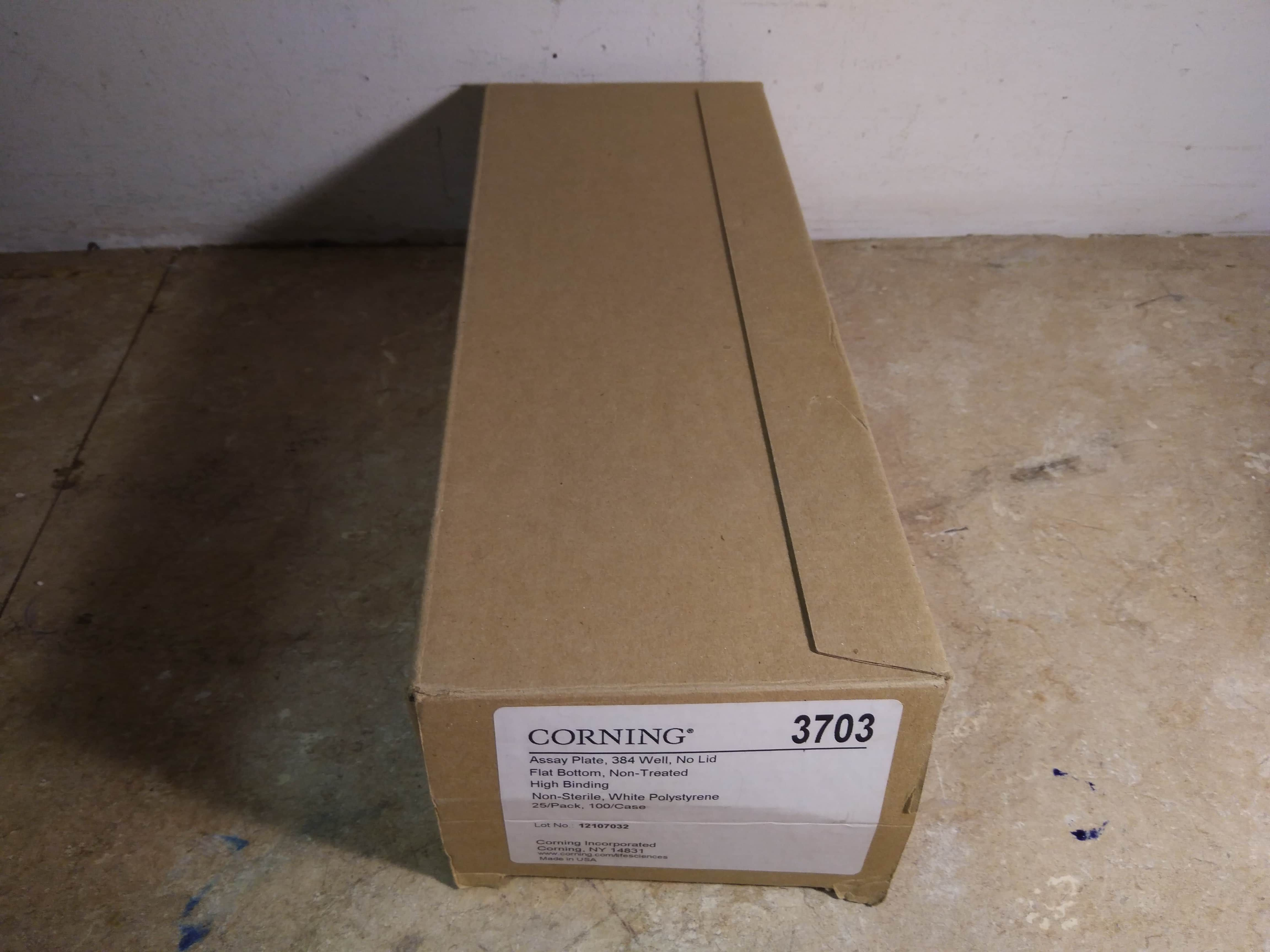 Corning 3703 Assay Plate Microplate 384 Well