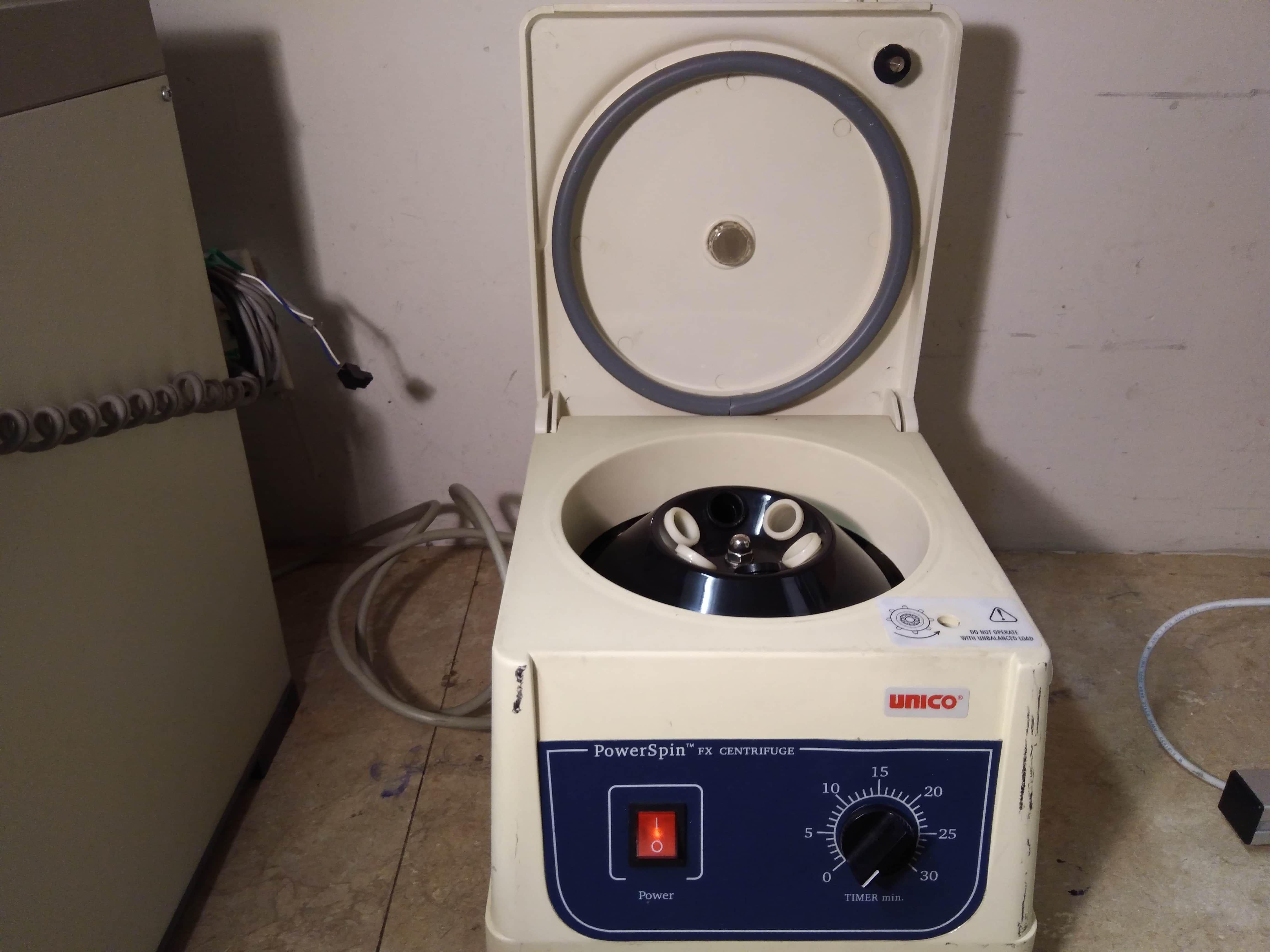 Unico PowerSpin FX Centrifuge C806 6 X 10 ml 3400 rpm