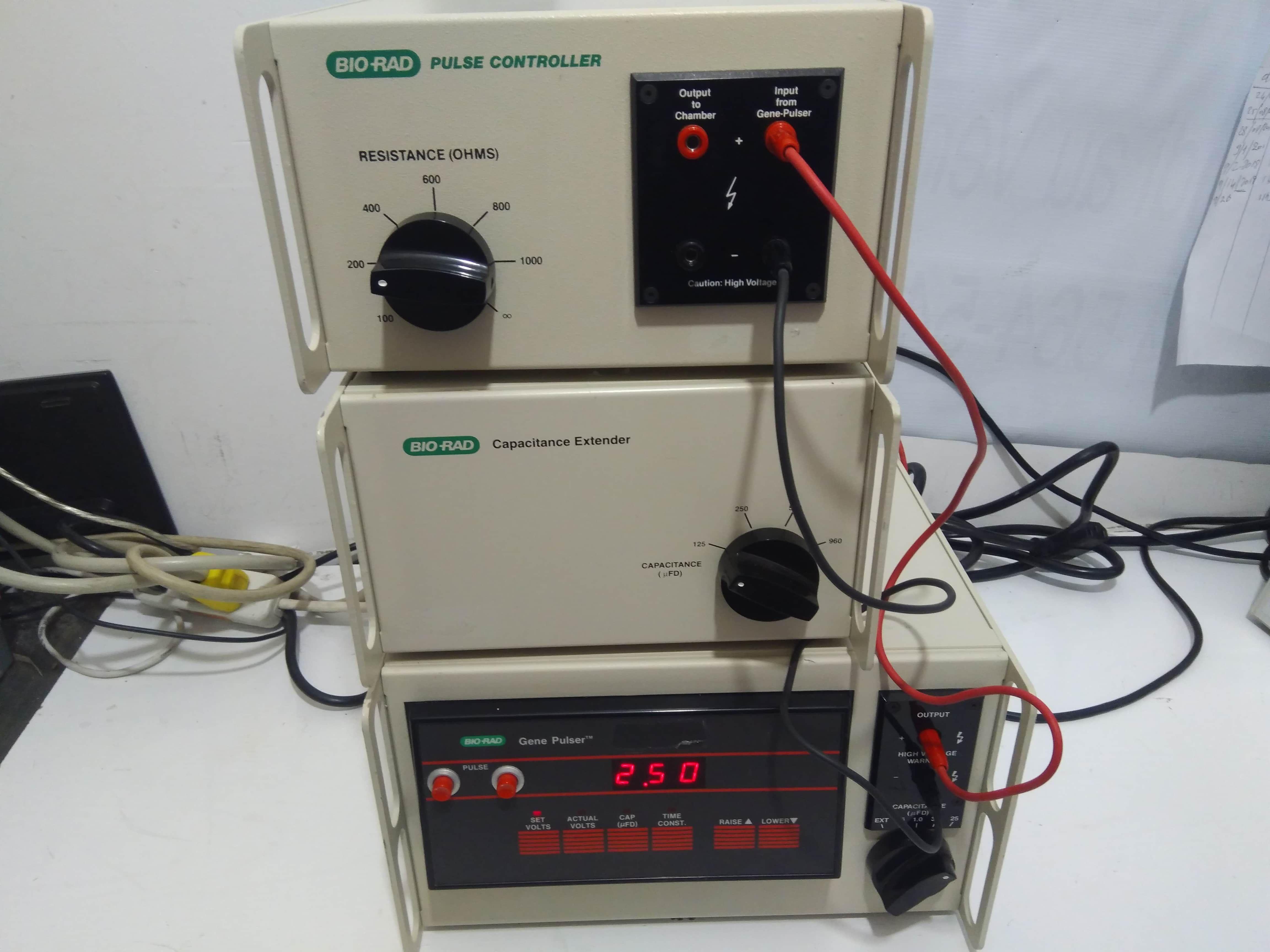 Bio-Rad Gene Pulser Pulse Generator 165-2076 System