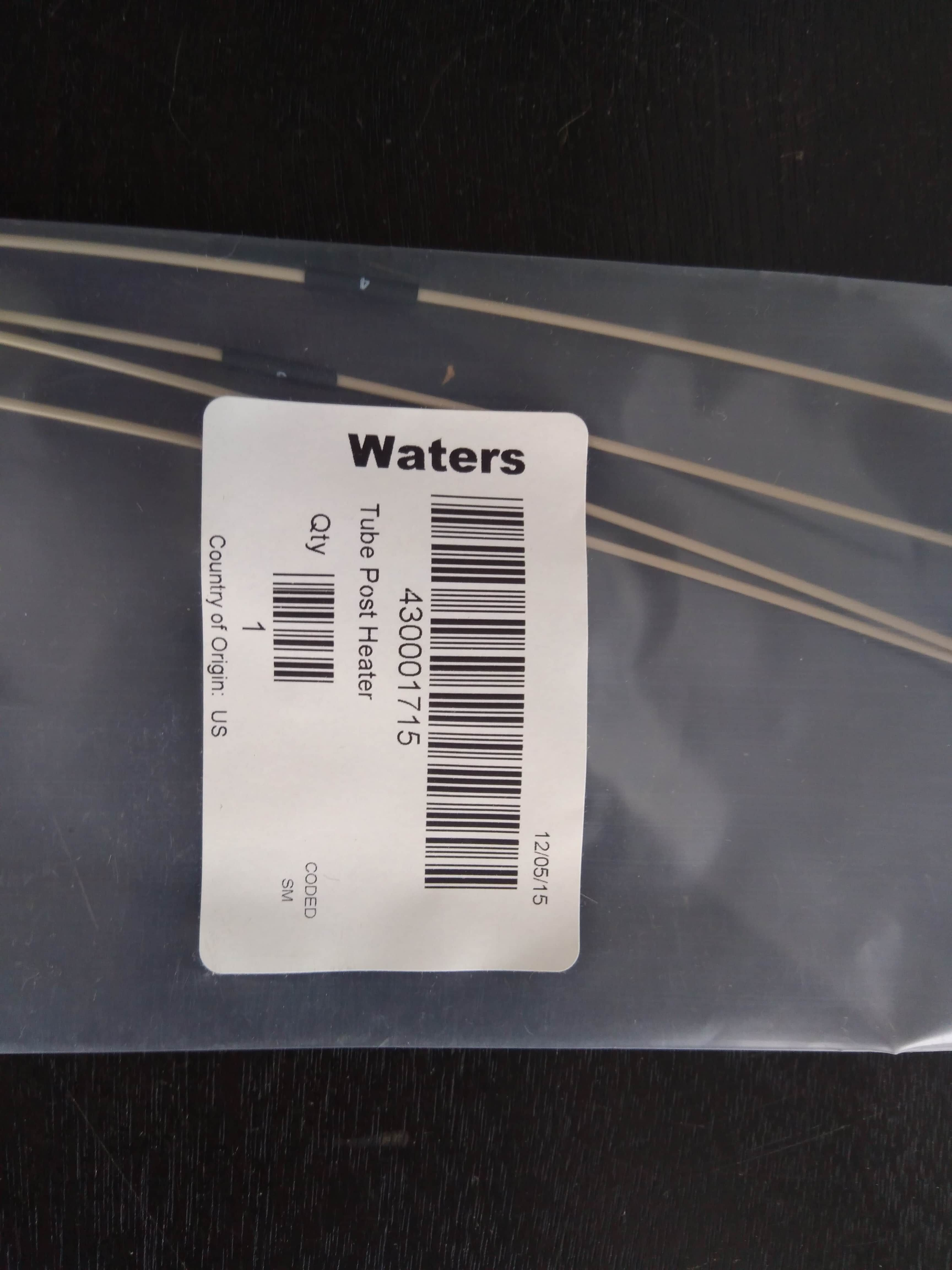 Waters Acquity UPLC Tubing Kit, Post-heater, .0025 ID, 4/pk 430001715