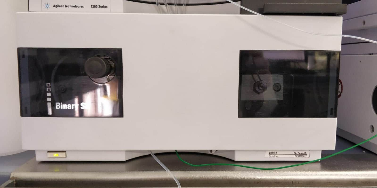 Agilent 1200 Series HPLC System with a 1260 Series VWD