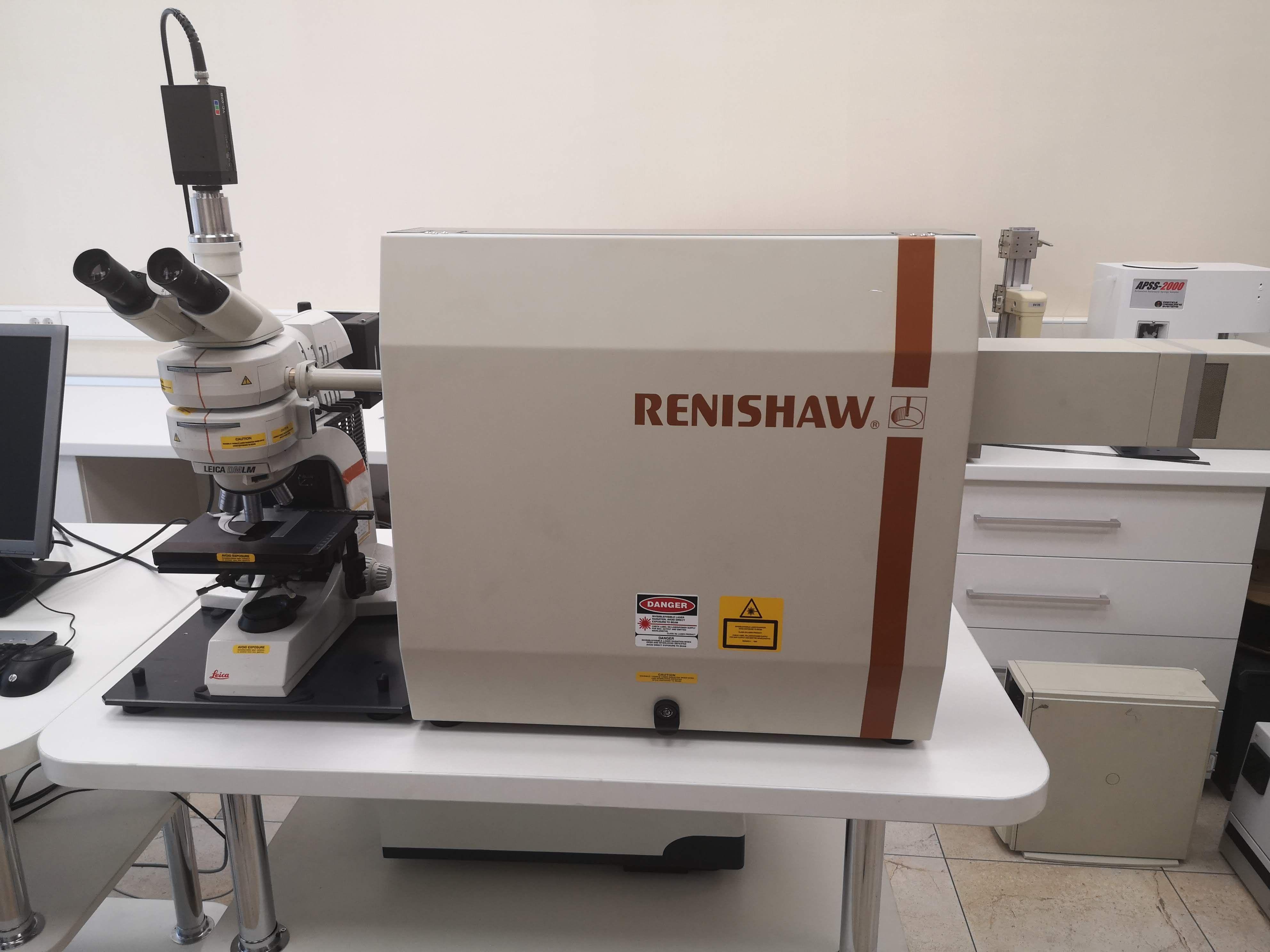 Renishaw RM1000 Research Laser Raman Microscope