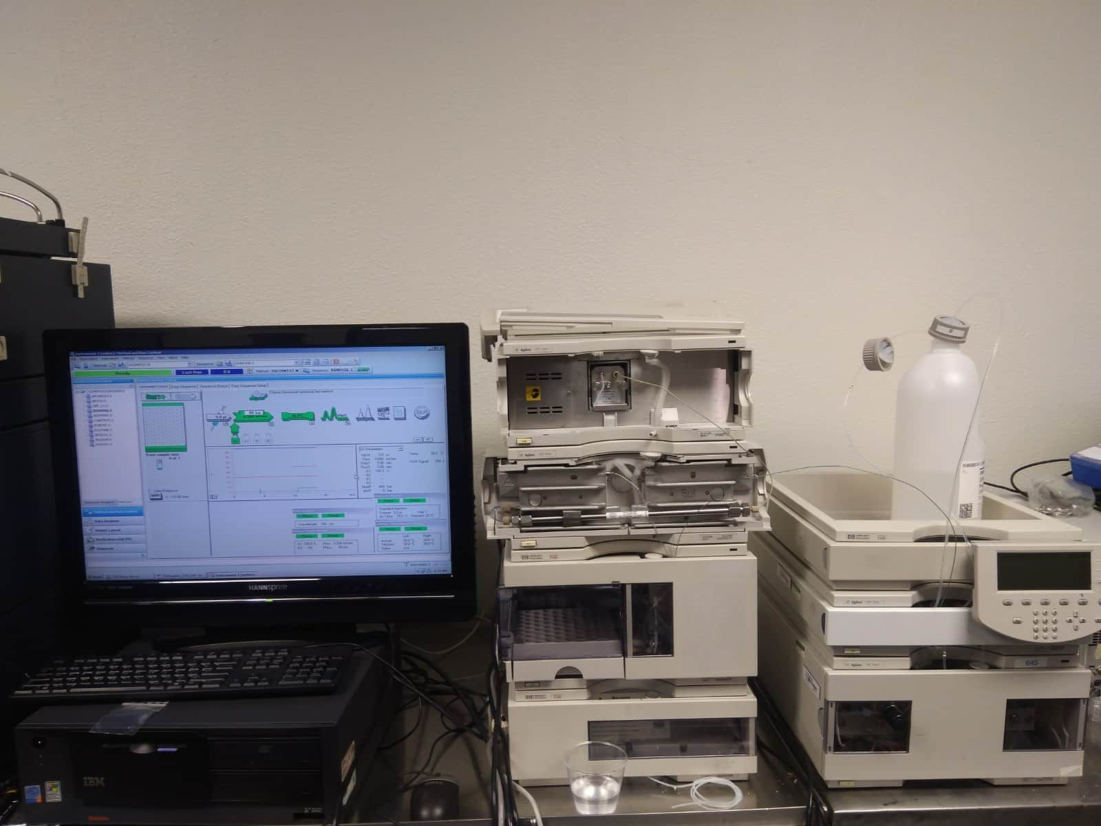 Agilent 1100 HPLC Complete with Software VWD BIN ThermALS