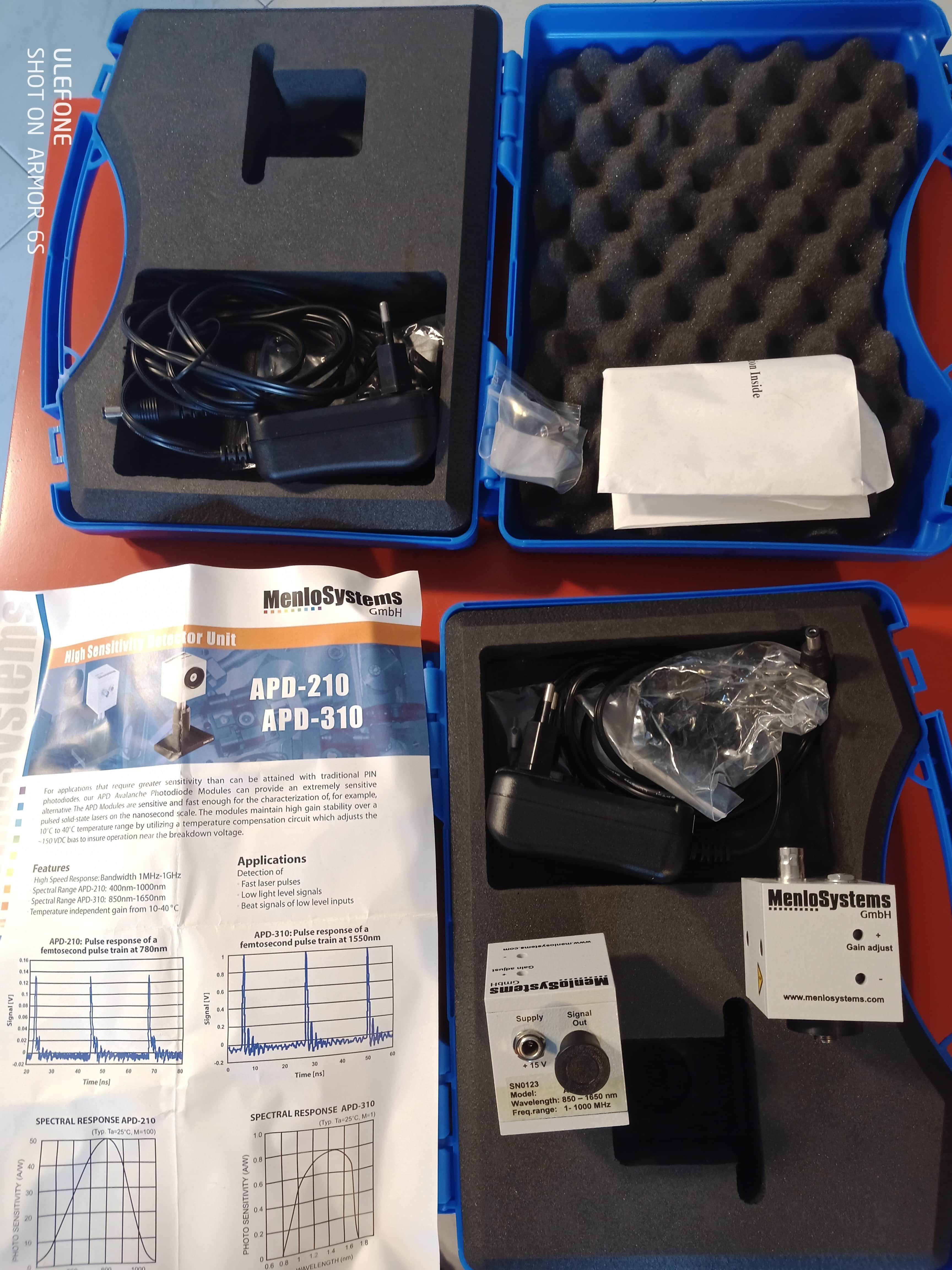 APD MenloSystem APD 310 + conn kit