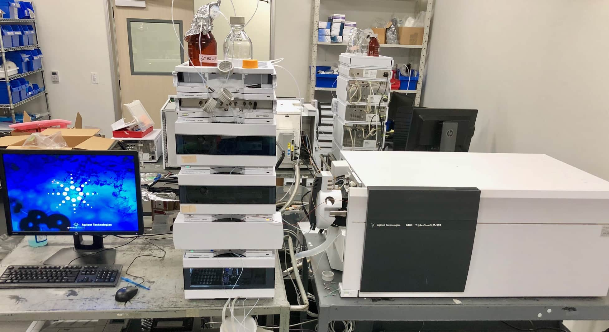 Agilent 6460 Triple Quad LC/MS/MS with Agilent 1260 LC