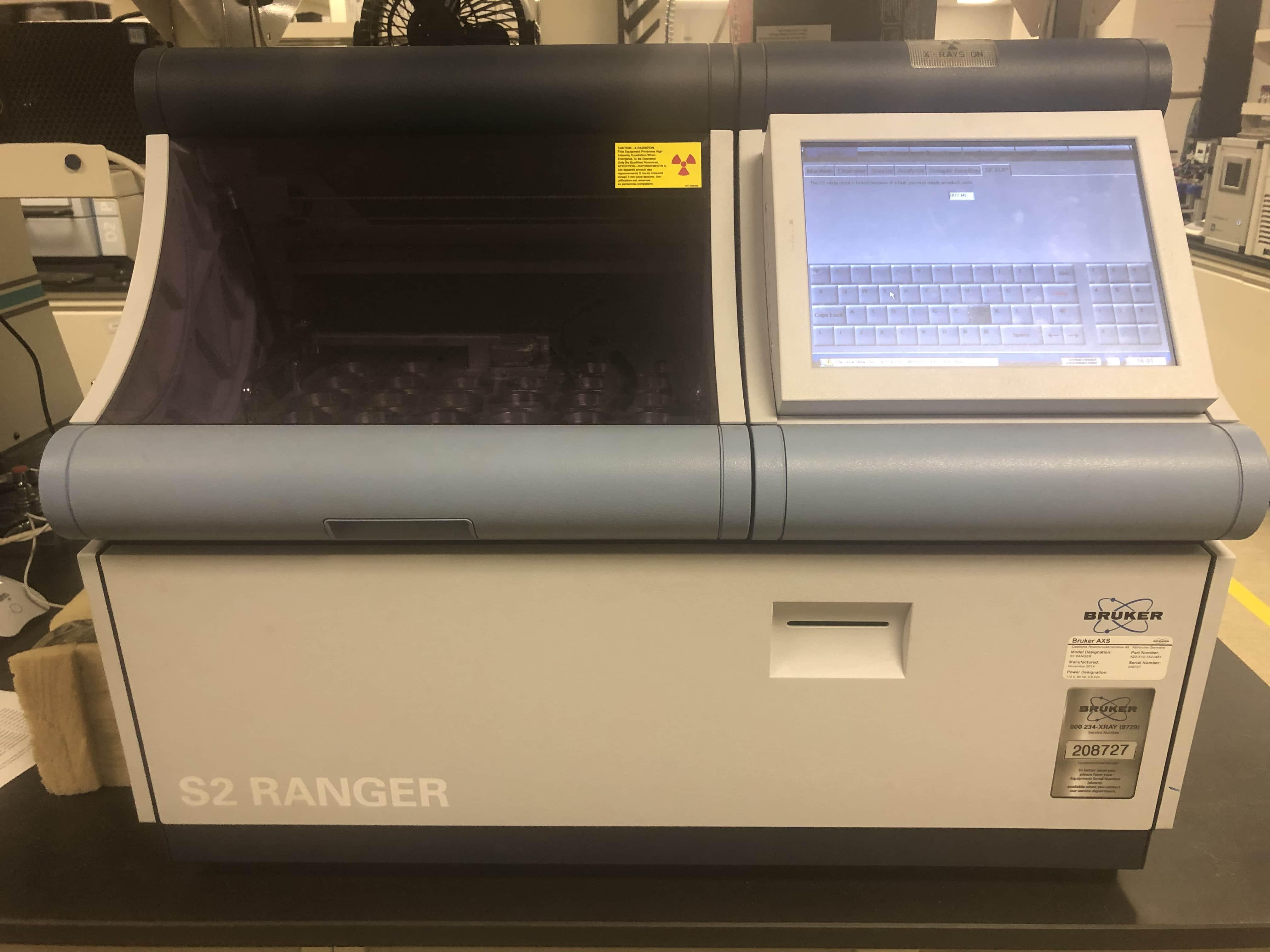 Bruker S2 Ranger XRF Analyzer