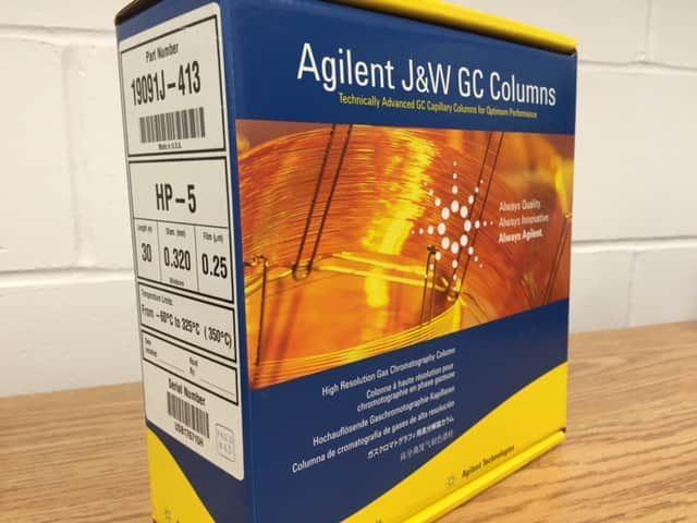 Agilent HP-5 Column Part Number 19091J-413 (30 m, 0.320 mm, 0.25 um)