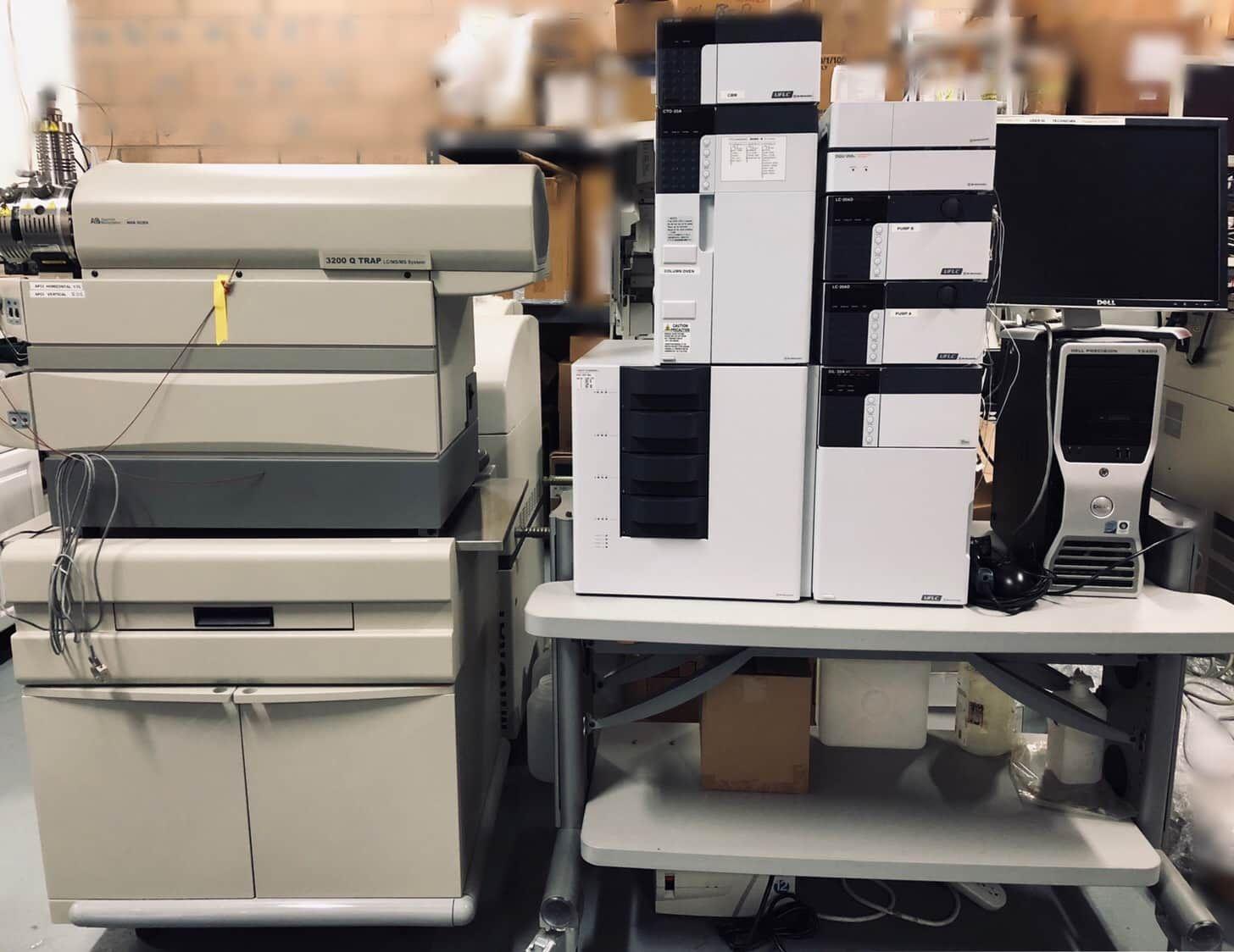 AB Sciex Q Trap 3200 LC-MS/MS System W/ Shimadzu Prominence UFLC , HPLC Complete System