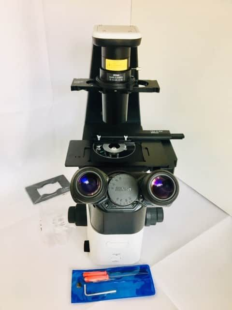 New Microscope Nikon Eclipse Ts2, White, with objectives 4x,10x, 20x,