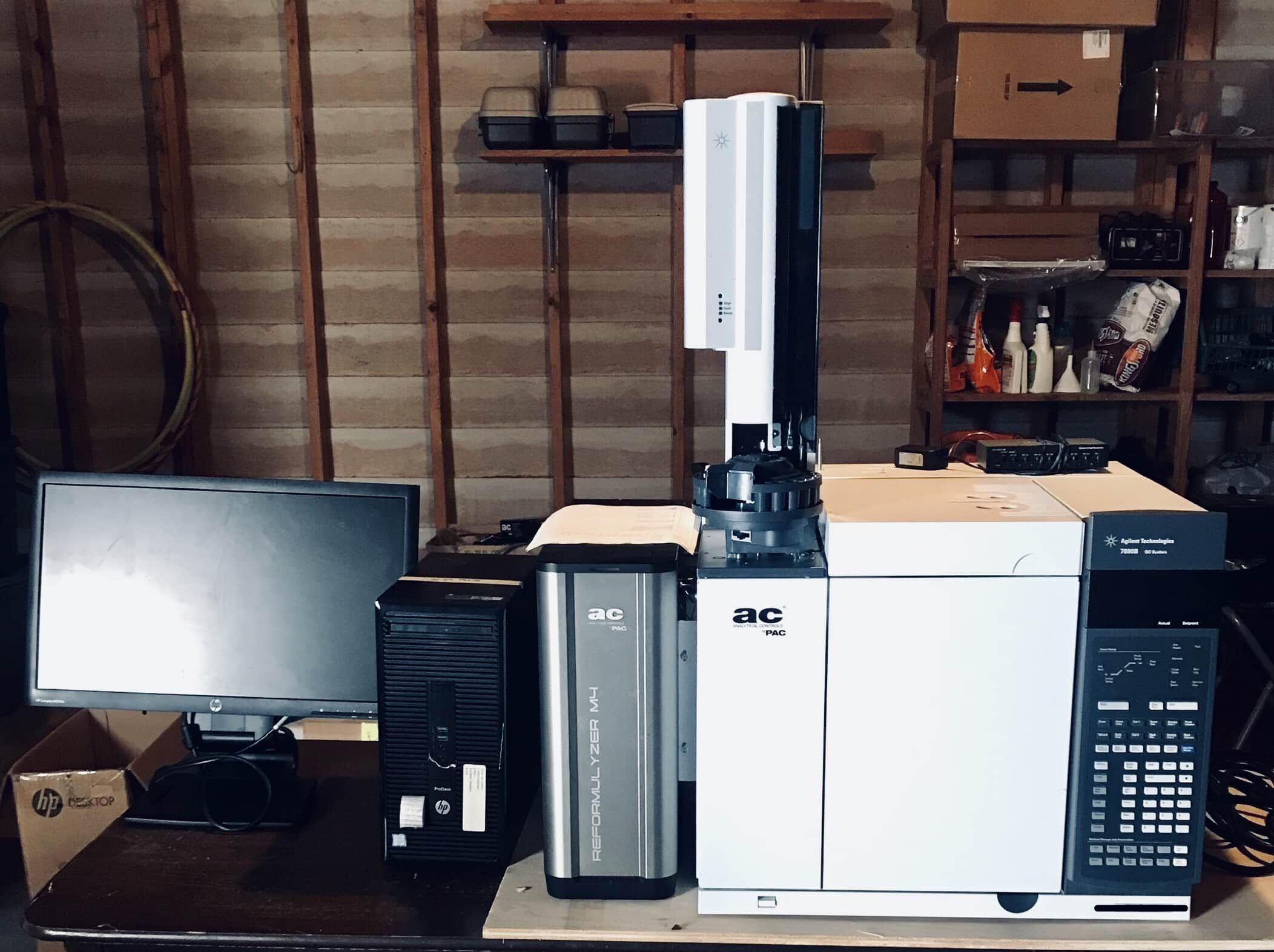 M4 Reformulyzer PIONA GC analyzer