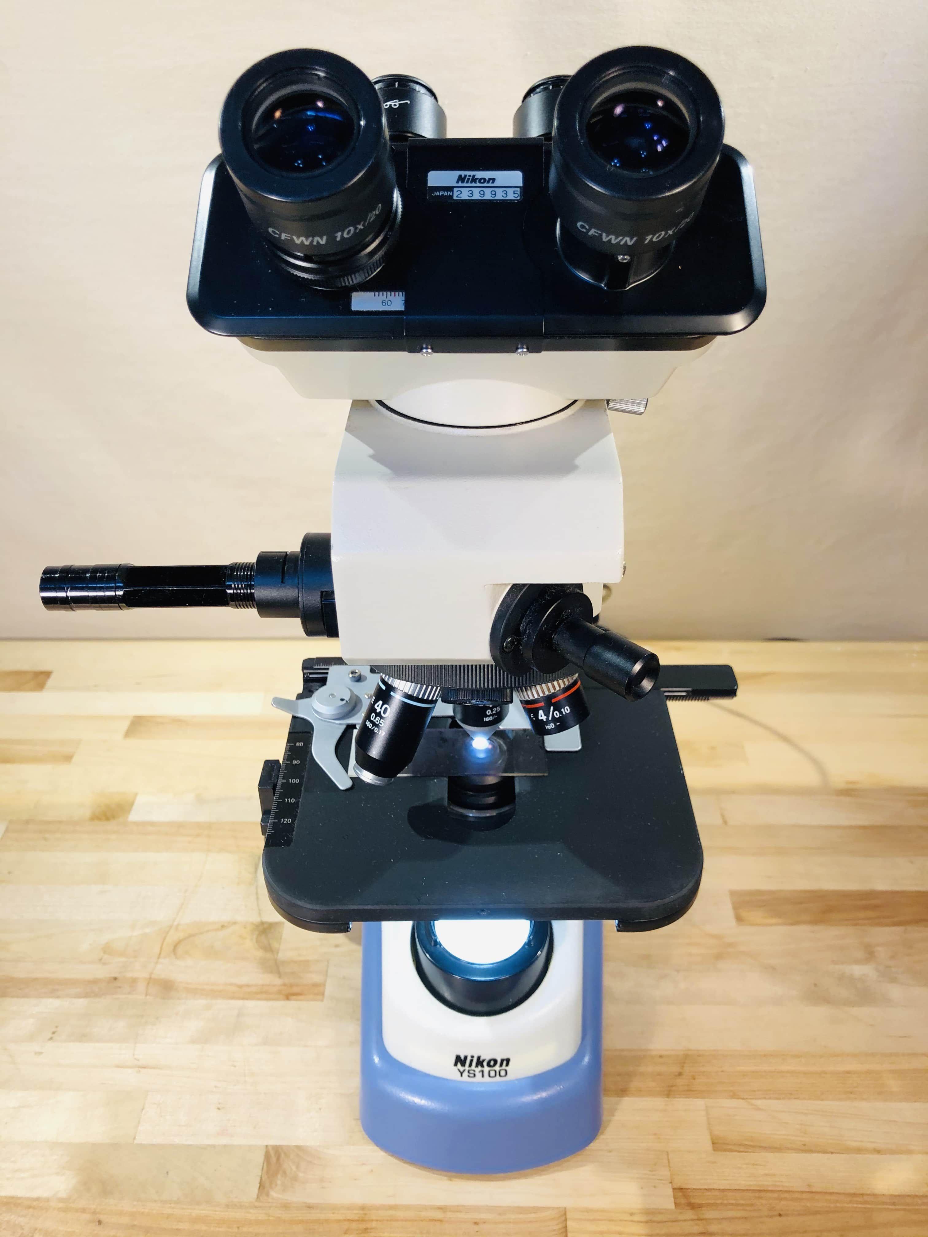 Nikon YS2 Microscope with Teaching Attachment