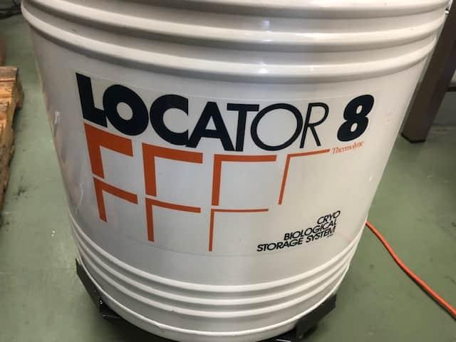 Cryo Biological Storage for Liquid Nitrogen Locator 8 w/ Thermolyne Monitor
