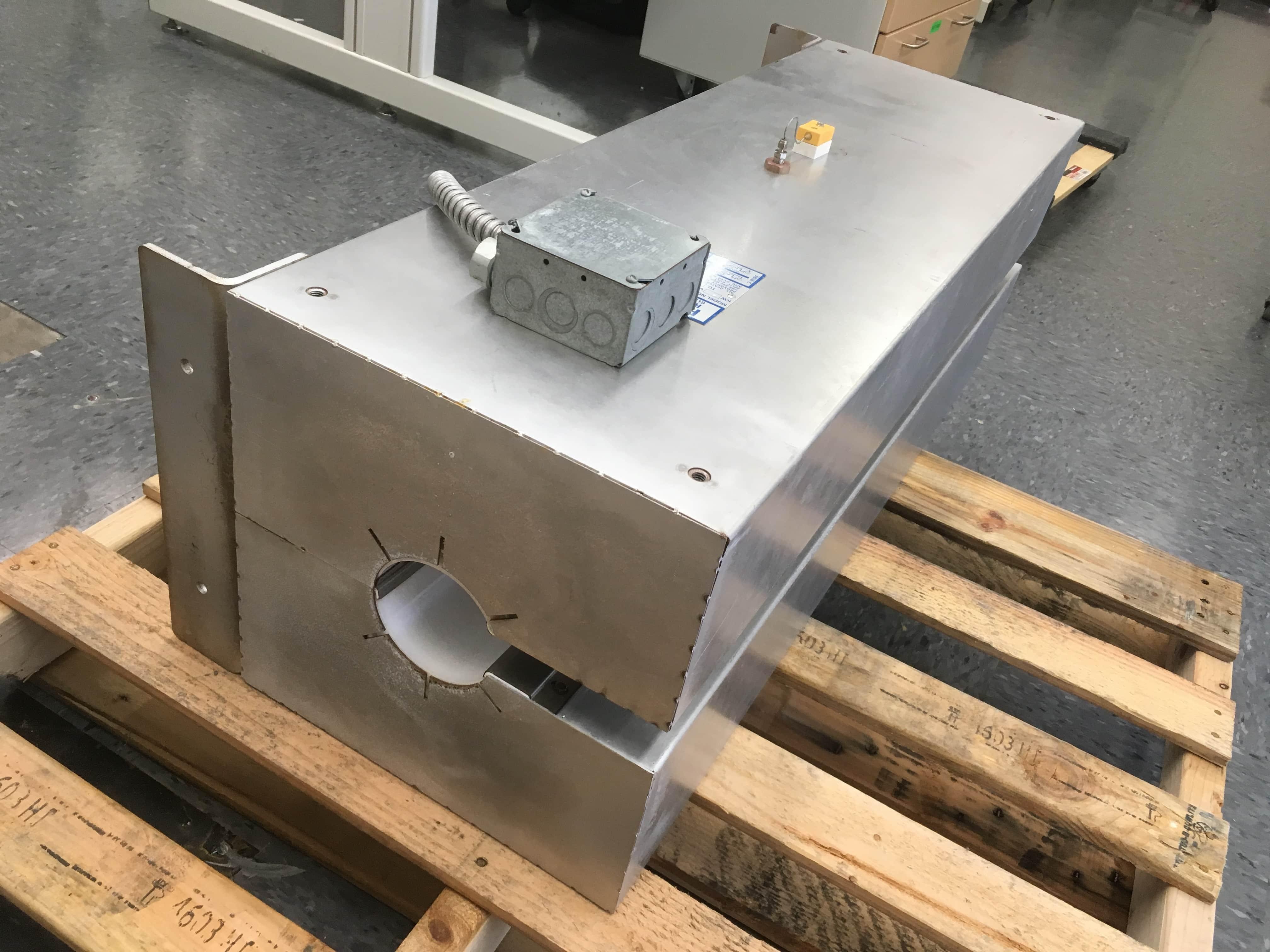 Glenro Radround Series 41 G4104-4 Radiant Process Heater w/ SSR Control System