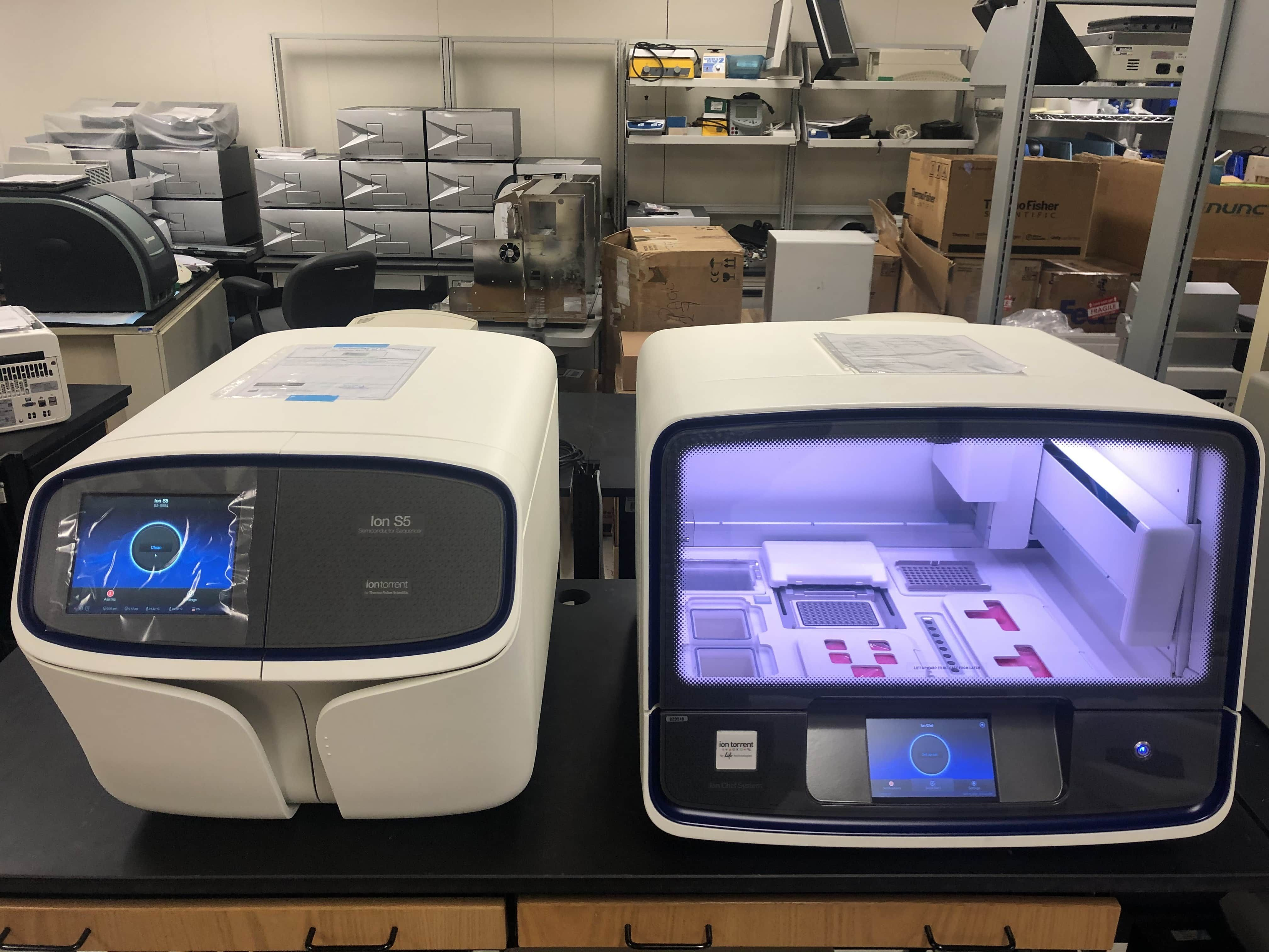 Thermo Ion S5 Plus Sequencer NGS System-Brand New S5 NGS Sequencer