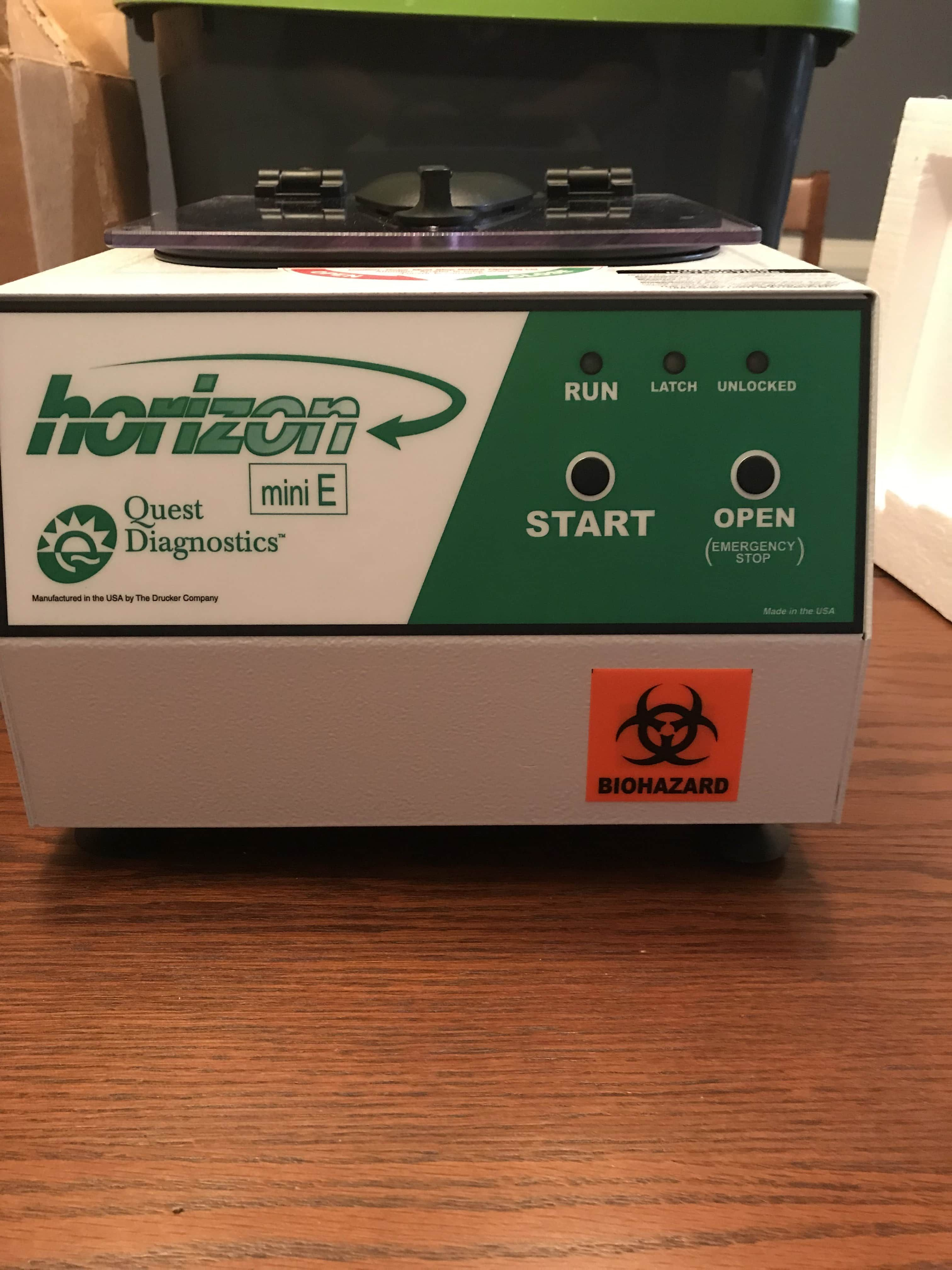 Quest Horizon 642 Mini E Centrifuge - New