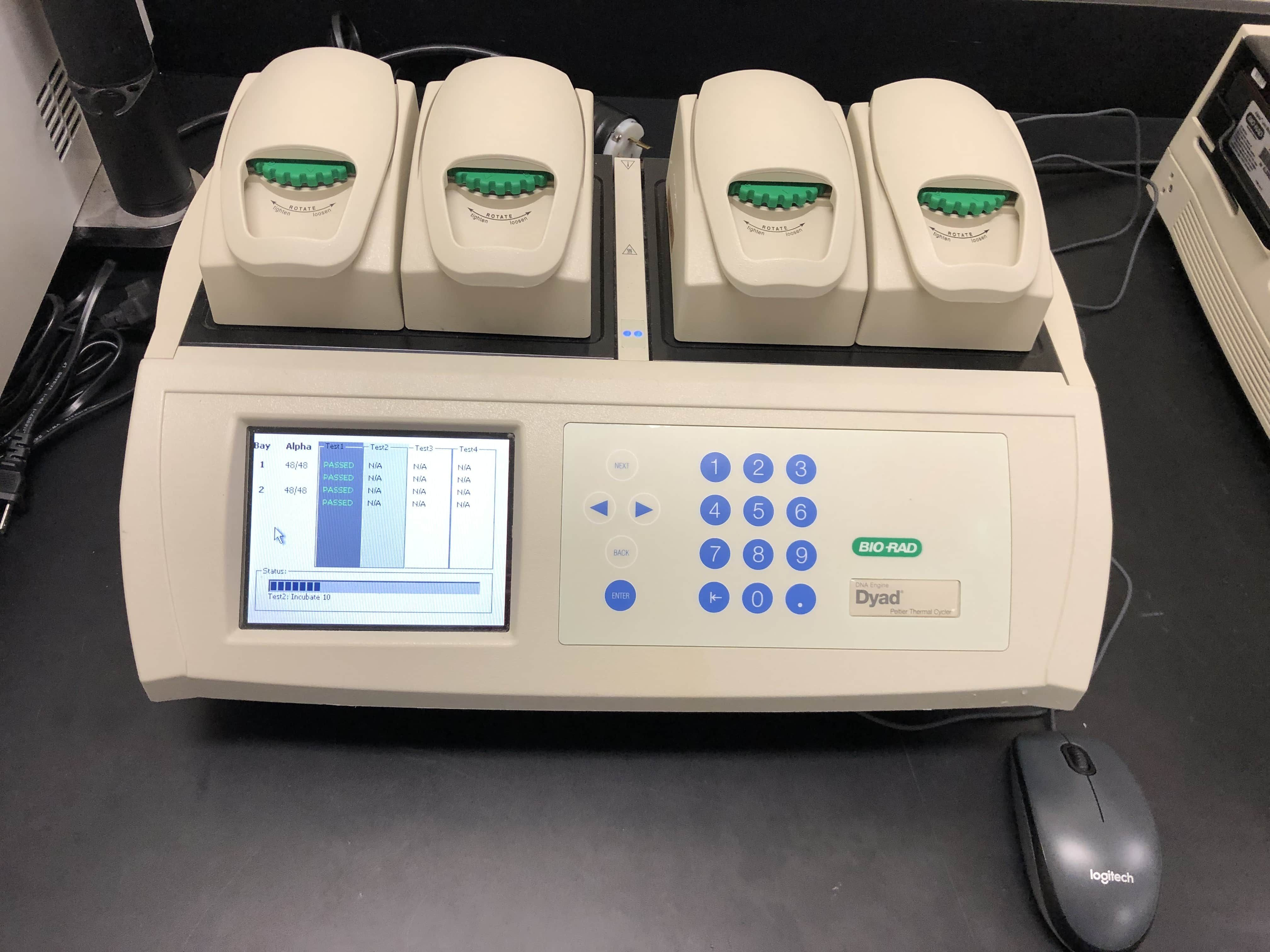 BIO-RAD DYAD DUAL Gradient 48x48 Well Block PCR Thermal Cycler-Temp Probe Tested