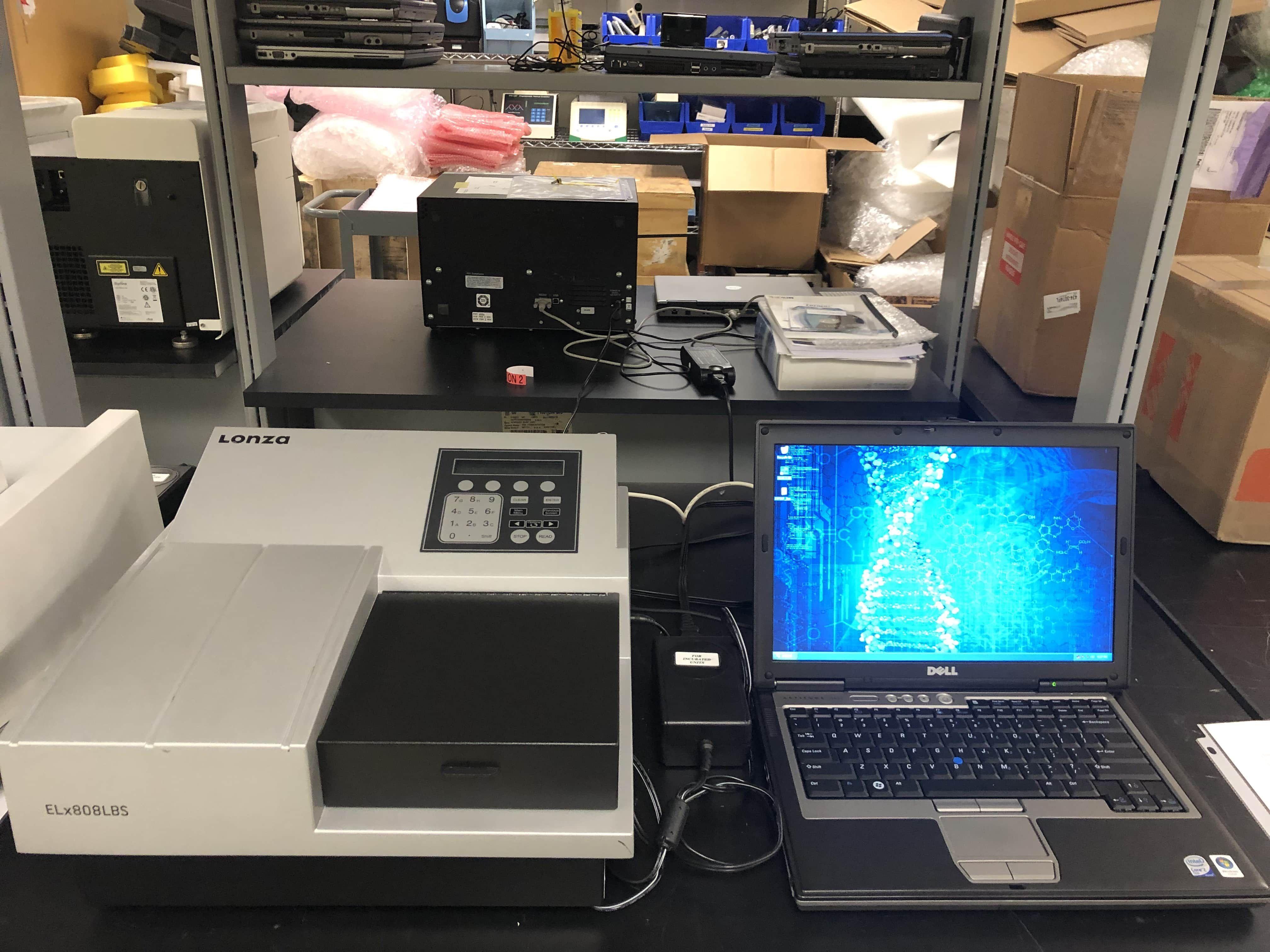 LONZA / Biotek ELX808IUBWI  Plate Reader-New Performance Testing July 2019
