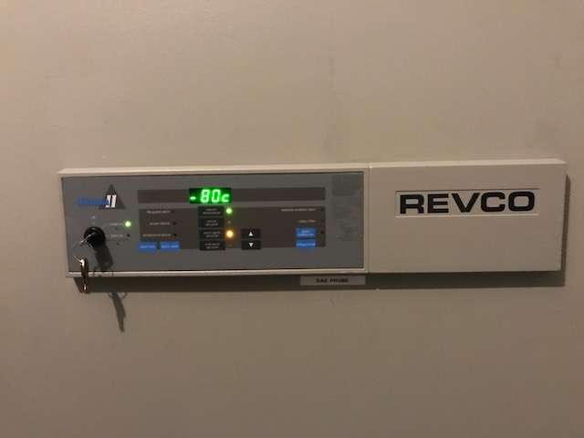 Thermo Scientific Revco ULT 2186-9-A36 with Key, Tested to -80C