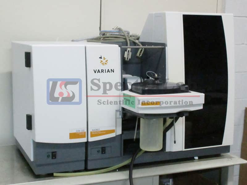 Varian AA280Z Zeeman Atomic Absorption Spectrometer with GTA 120 Graphite Tube Atomizer