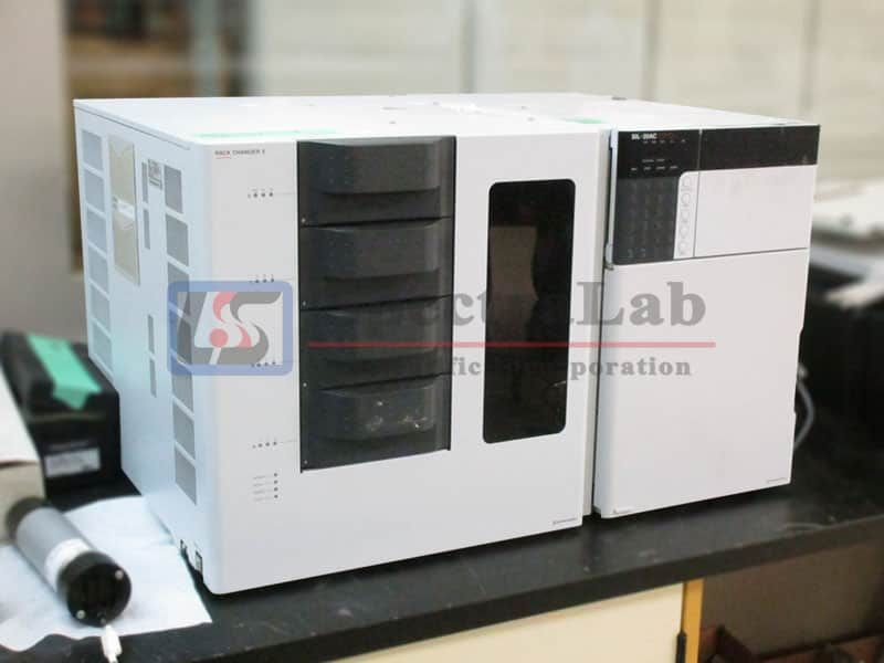 Shimadzu SIL-30AC Autosampler with Rack Changer II