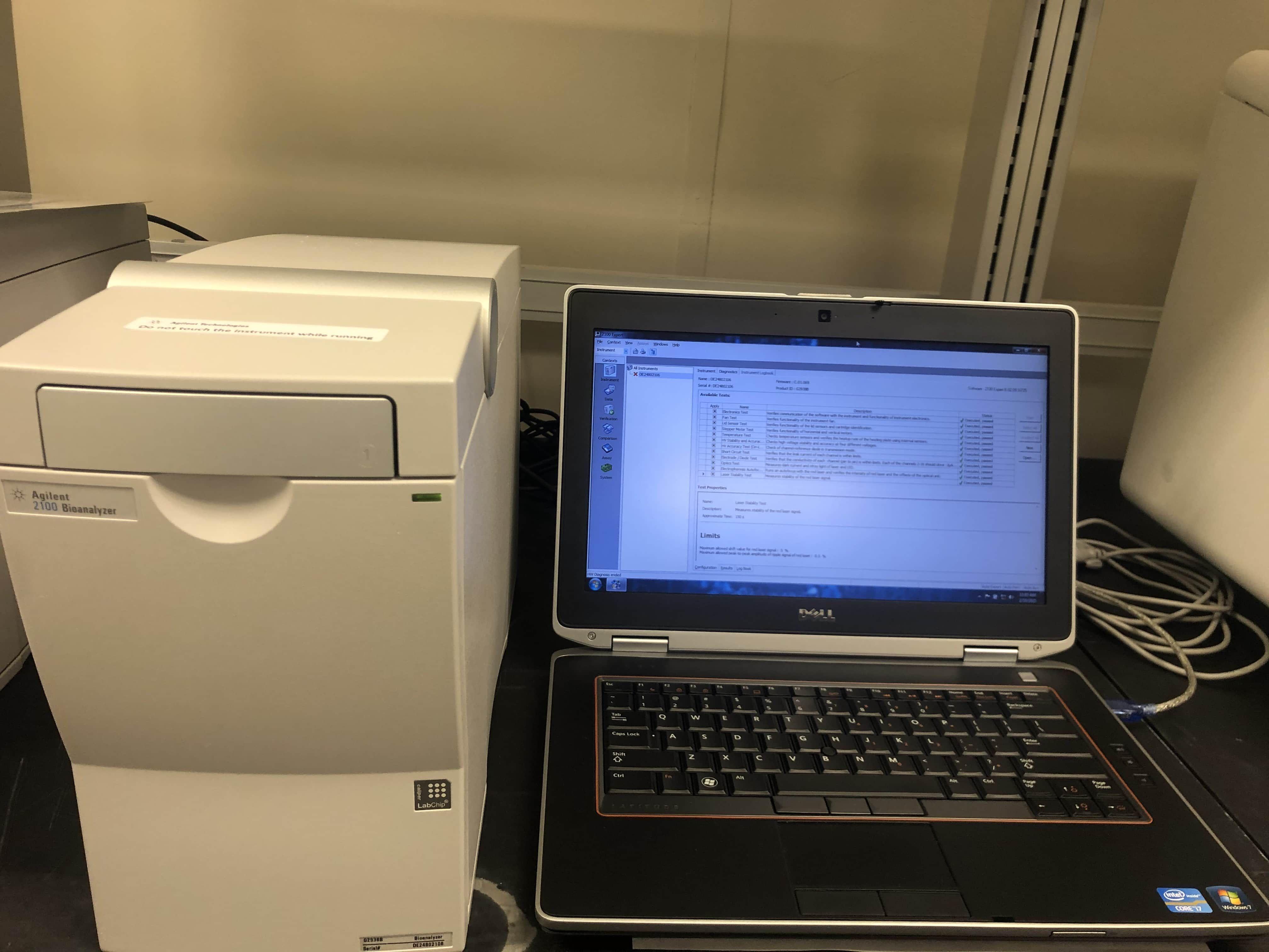 Agilent 2100 Model G2938B Bioanalyzer Complete system-New Agilent Reburb Unit-Like New Condition