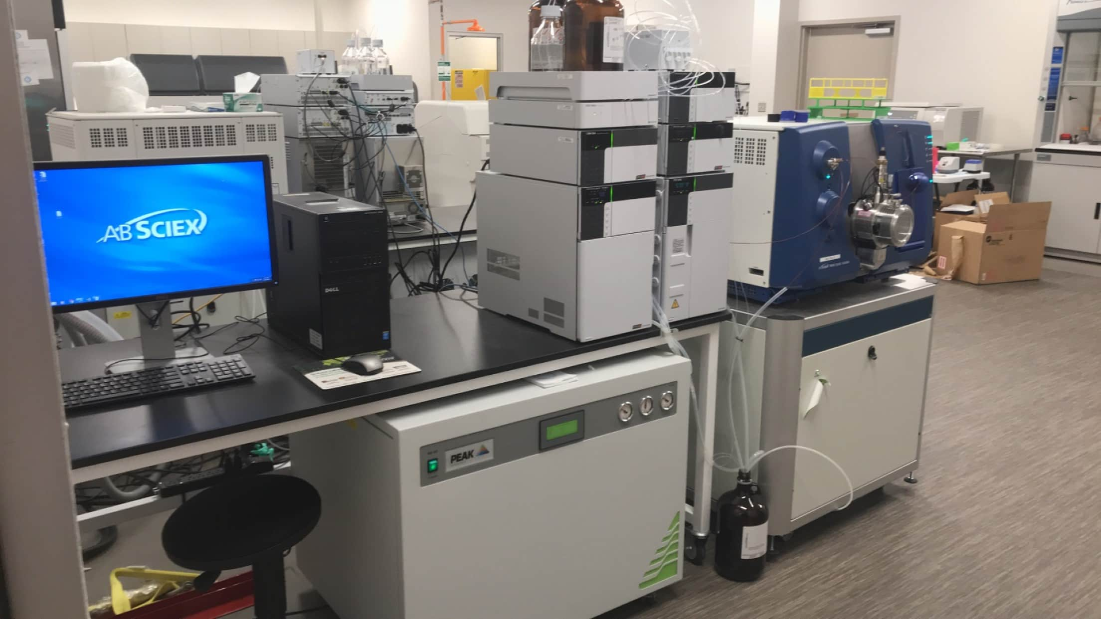 2017 AB-Sciex 4500 LC-MS/MS Brand New Barely Used Complete System