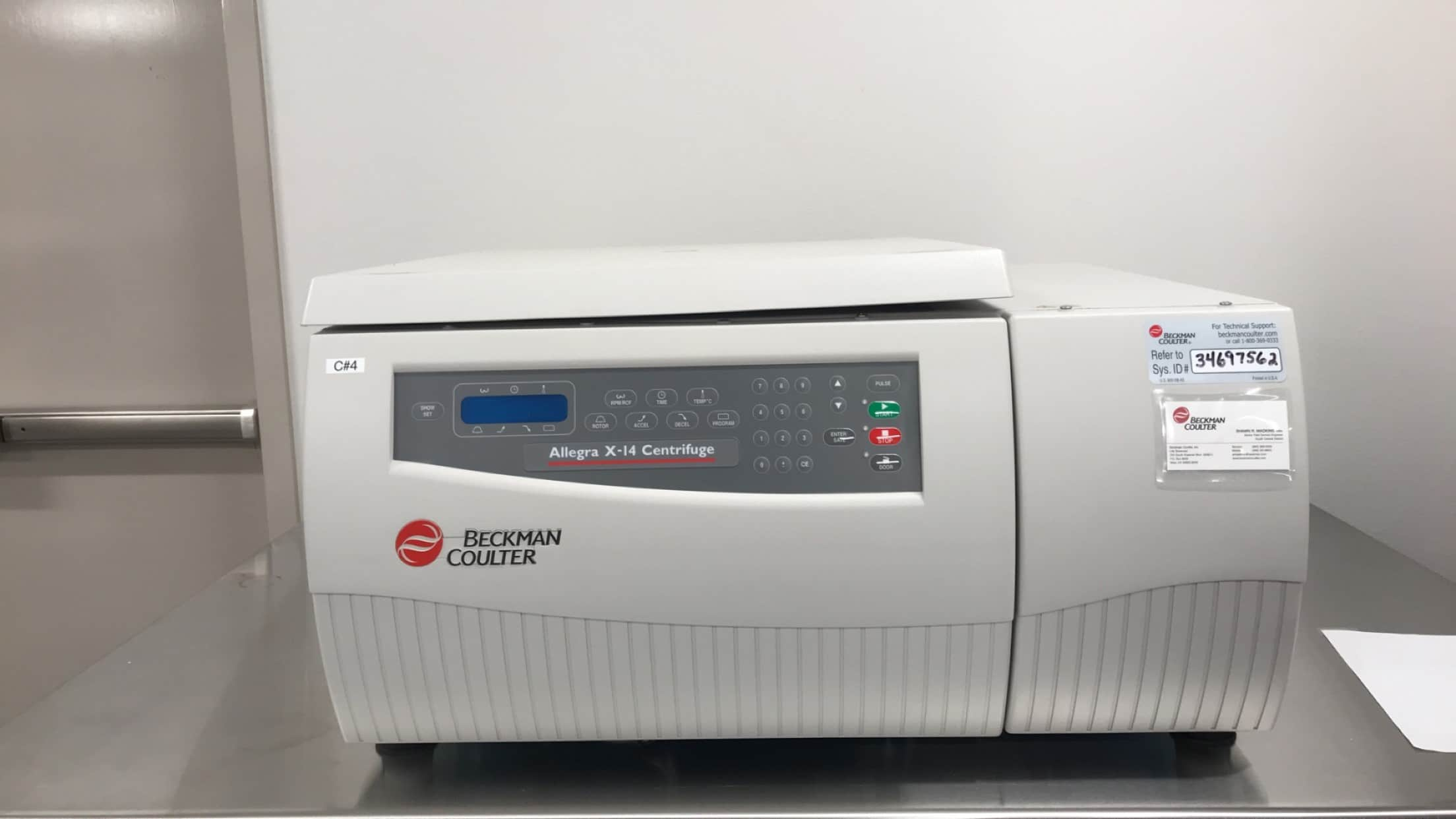 Allegra X-14, 120V-Microplate