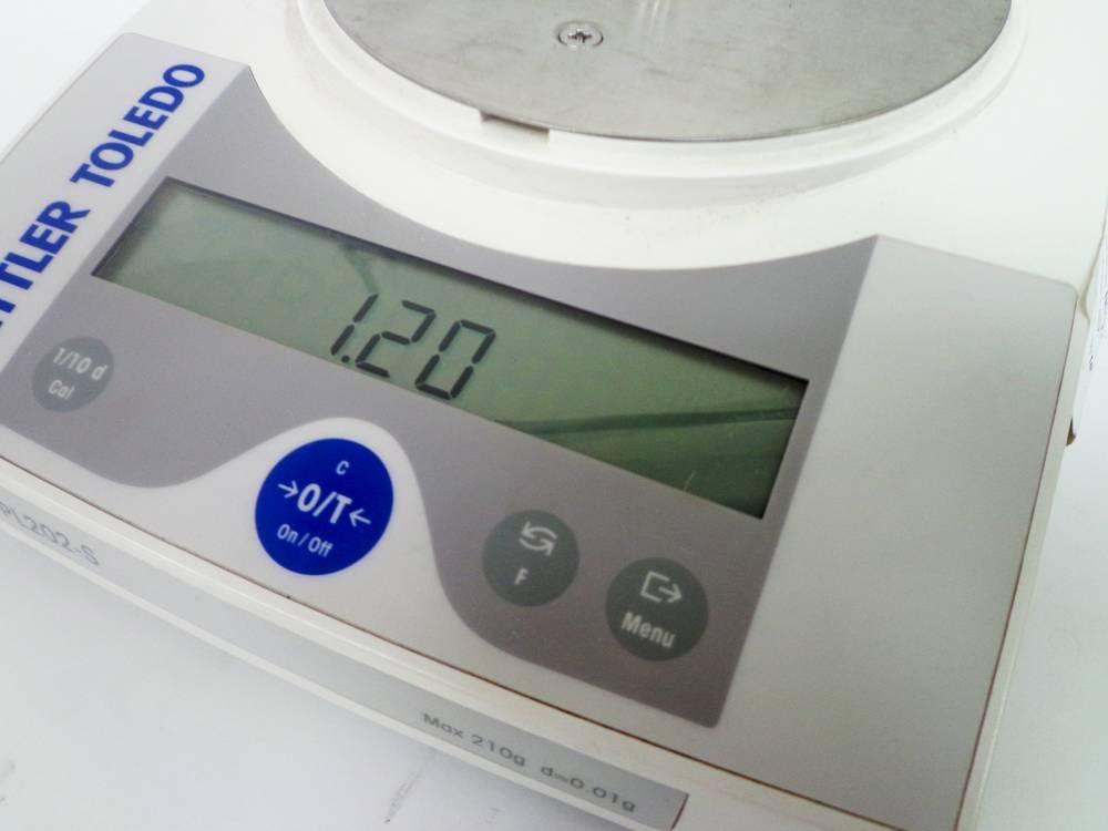 Mettler Toledo PL202-S scales (WA11310)