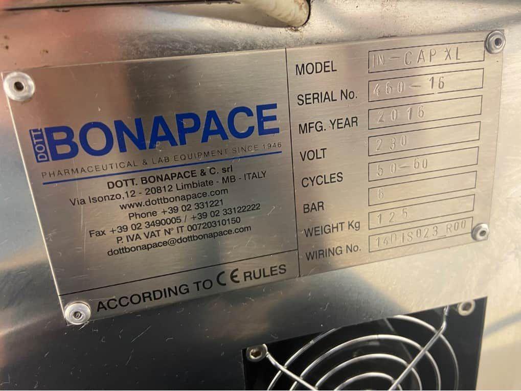 Dott Bonapace IN-CAP XL Bench Top Automatic Capsule Filler
