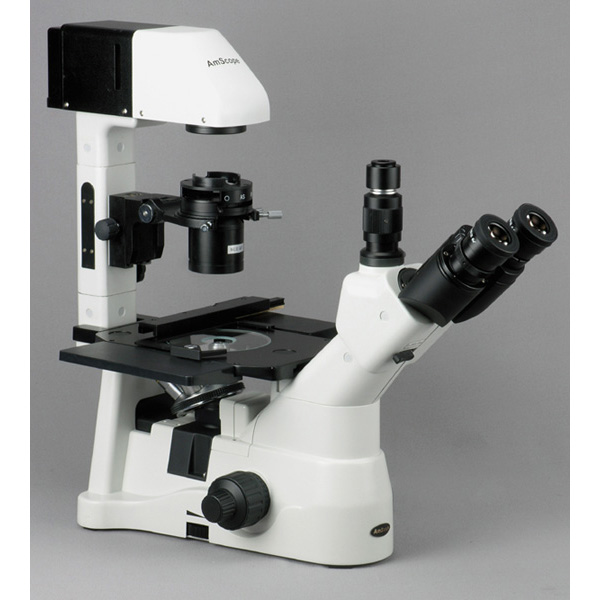 AmScope 40X-1500X Phase Contrast Culture Microscope