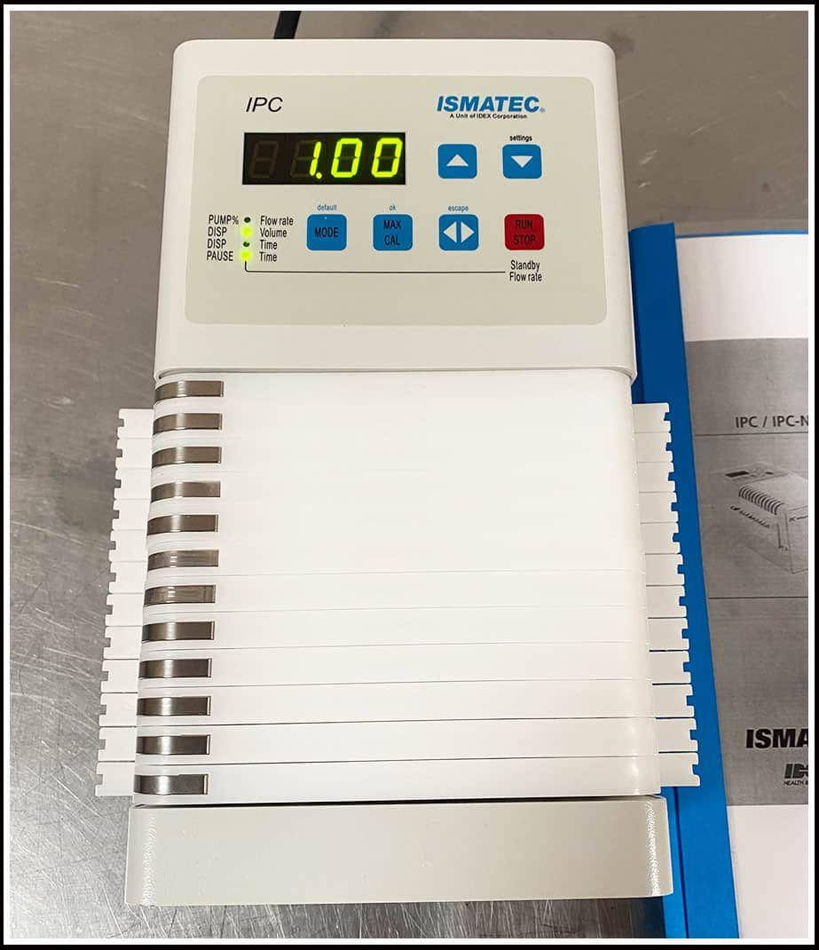 Ismatec 12 Channel Peristaltic Dosing Dispensing Pump w WARRANTY