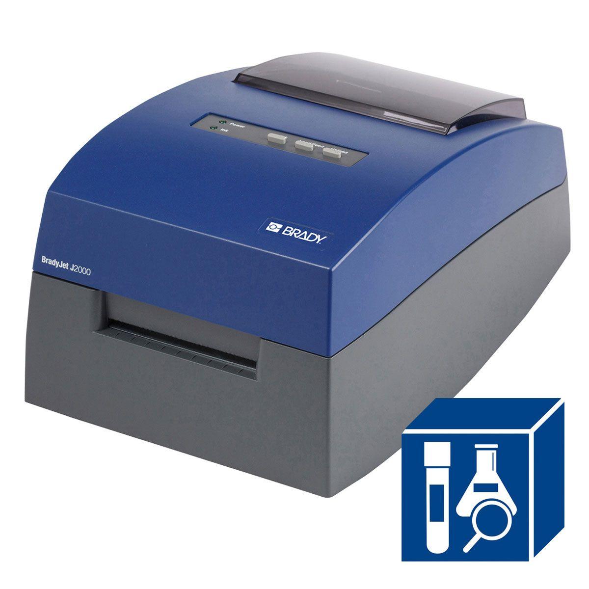 BradyJet J2000 Inkjet Full Color Printer with Lab Software
