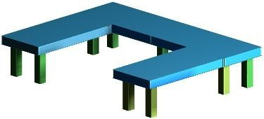 Optical Table Joined systems
