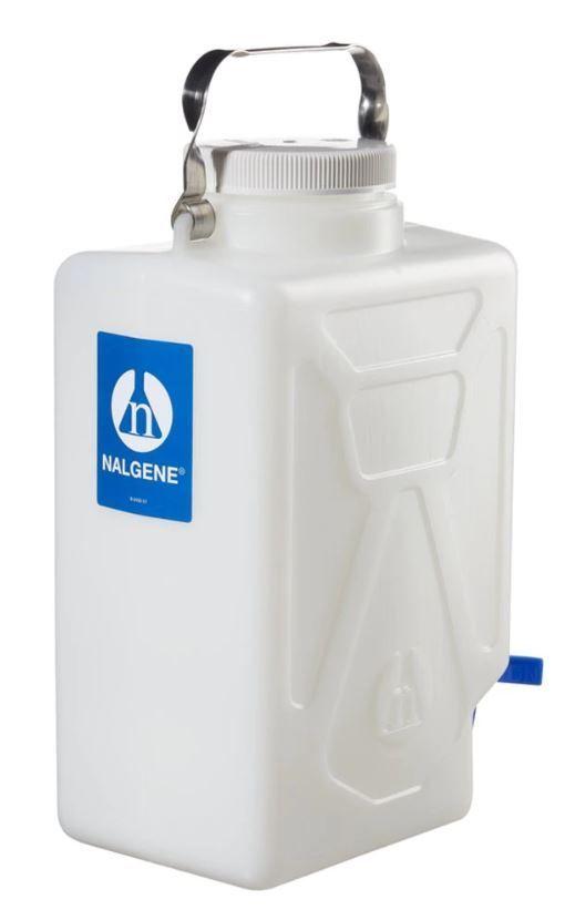 Thermo Scientific Nalgene™ Rectangular HDPE Carboy with Spigot