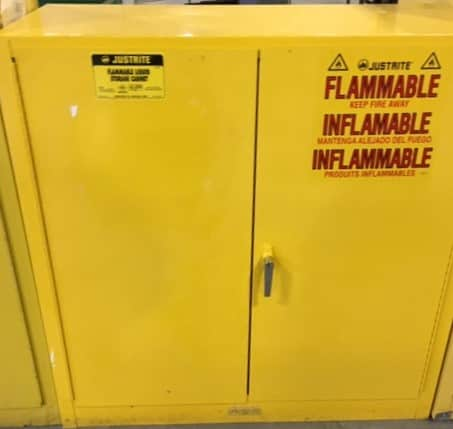 Justrite  and Eagle safety storage cabinets - like new
