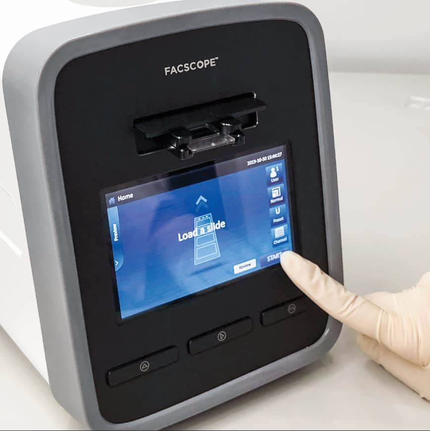 FACSCOPE B Automated Cell Counter