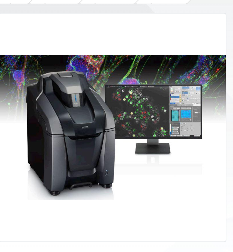 KEYENCE NEW All-in-One Fluorescence Microscope BZ-X800E