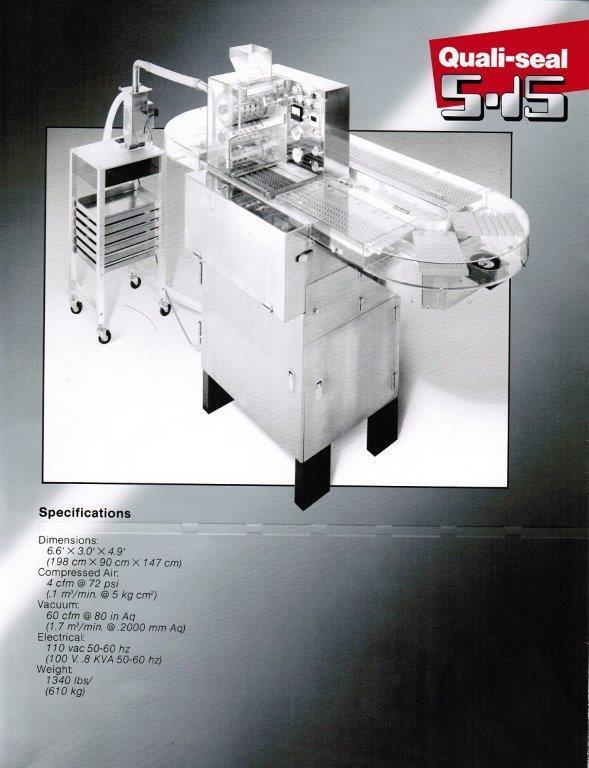 ELANCO Qualicaps S-15 Quali-Seal Capsule Bander