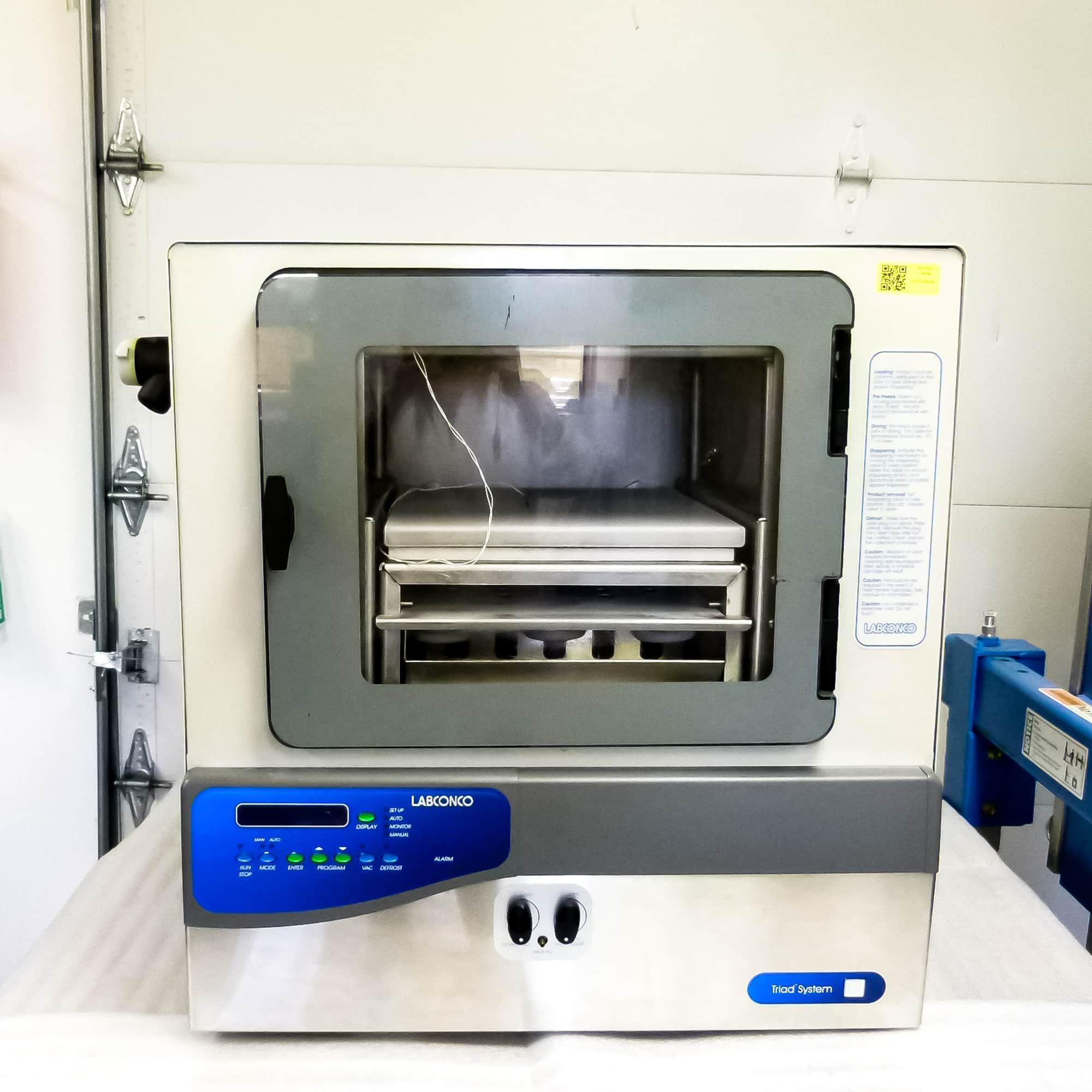 Labconco Triad Freezone Tray Lyophilizer with Stoppering Capability