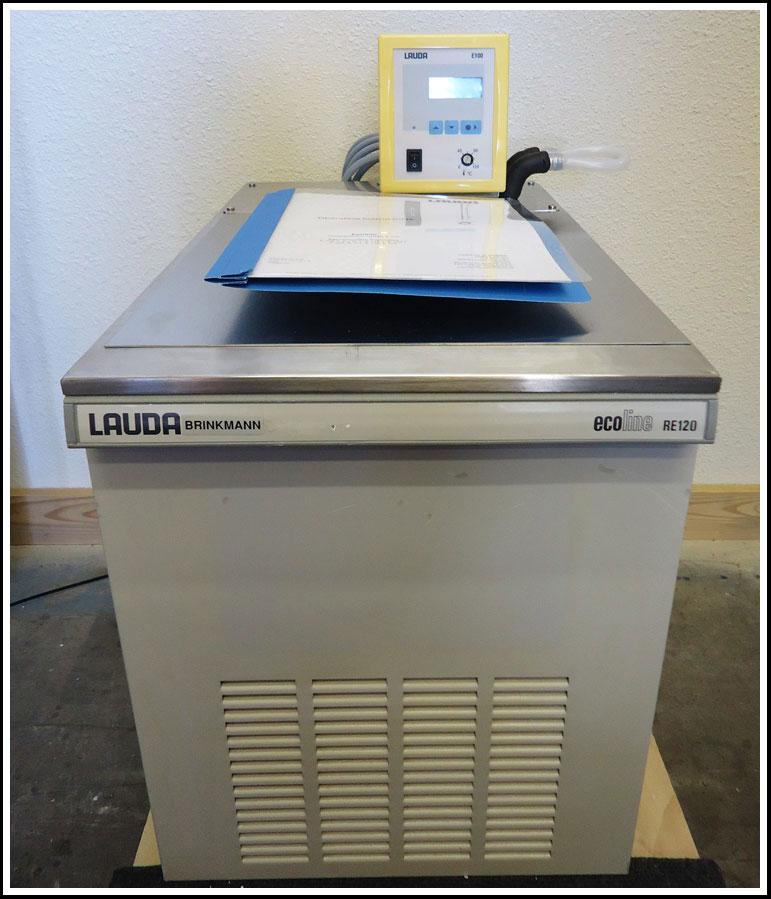 Lauda Refrigerating Circulator Bath E100 Controller with RE-120 Chiller w WARRANTY
