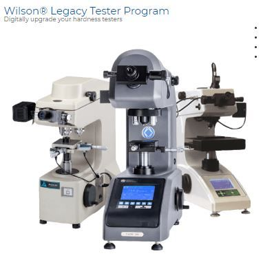 DiaMet™ Hardness Software Available for Legacy Wilson Testers Owners of Older Hardness Testers Can Upgrade to Buehler's Software Solution