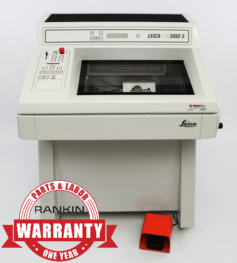 Leica CM3050 S Cryostat | Rankin 1-Year Parts & Labor Warranty