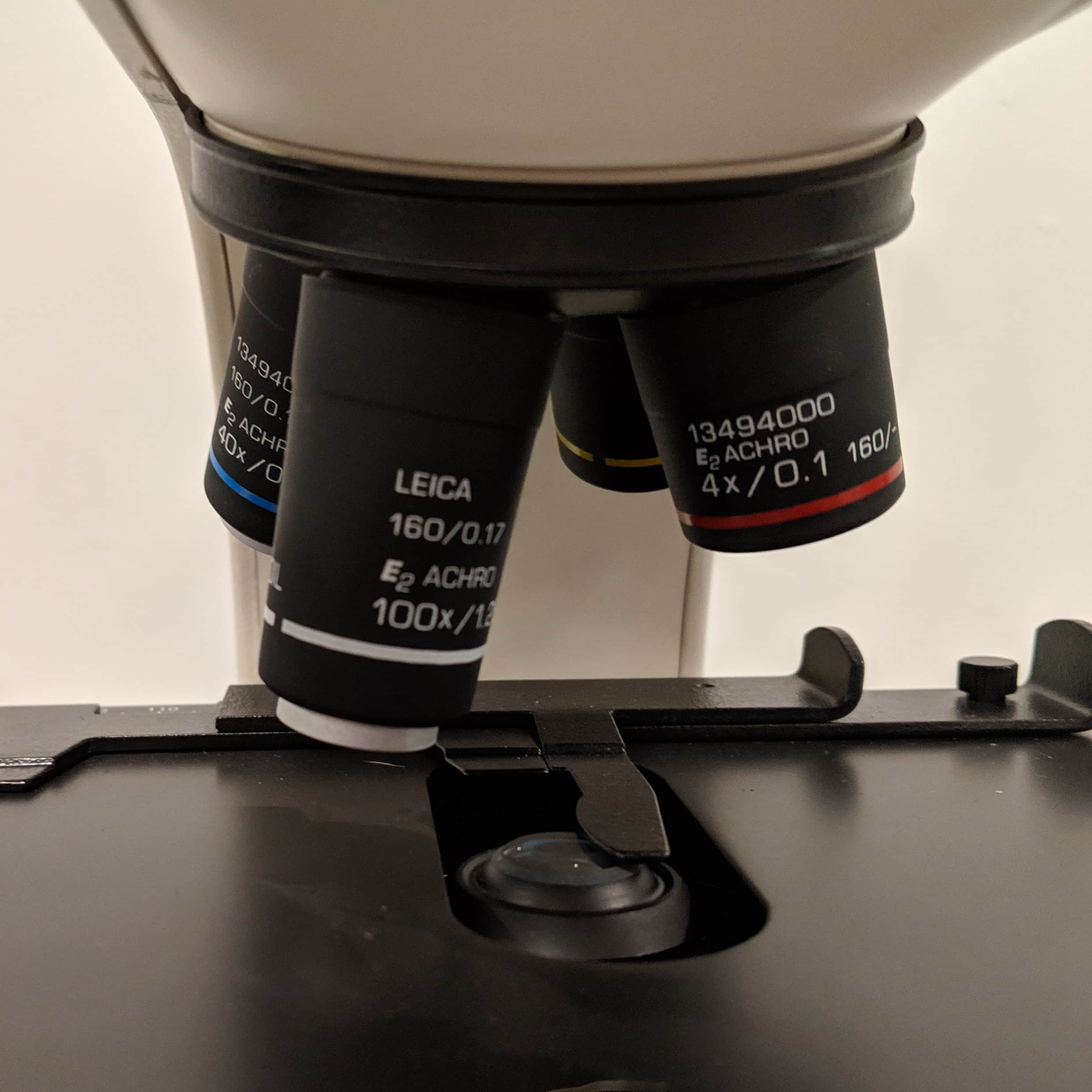 Leica CME Binocular Upright Microscope