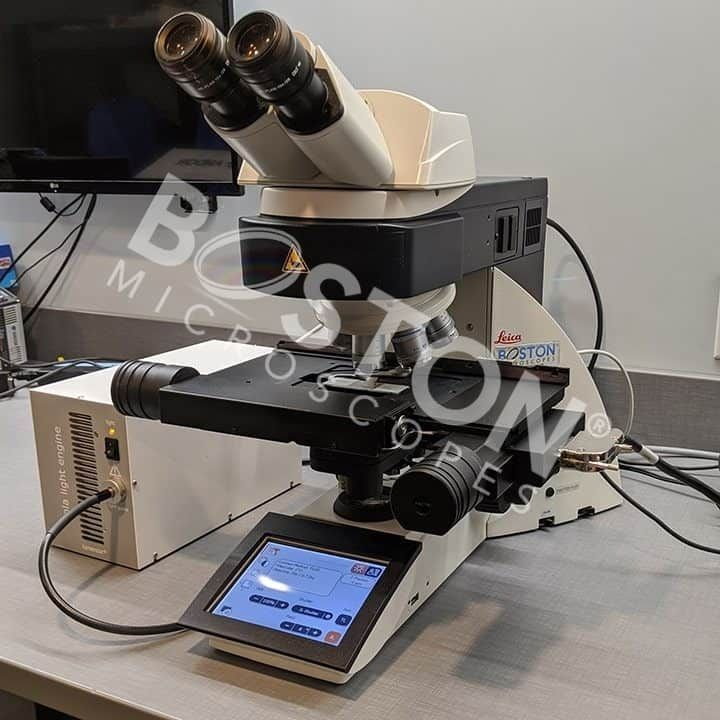 Leica DM6000 B Trinocular Motorized Upright Microscope