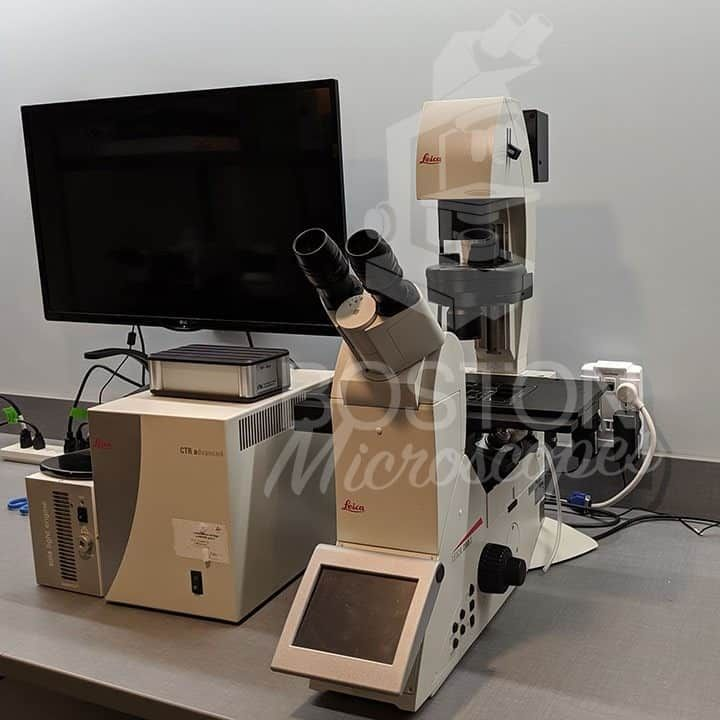 Leica DMi8 Automated Inverted Phase Contrast Fluorescence Microscope