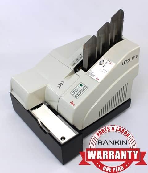 Leica IP S Slide Printer | Rankin 1-Year Parts & Labor Warranty